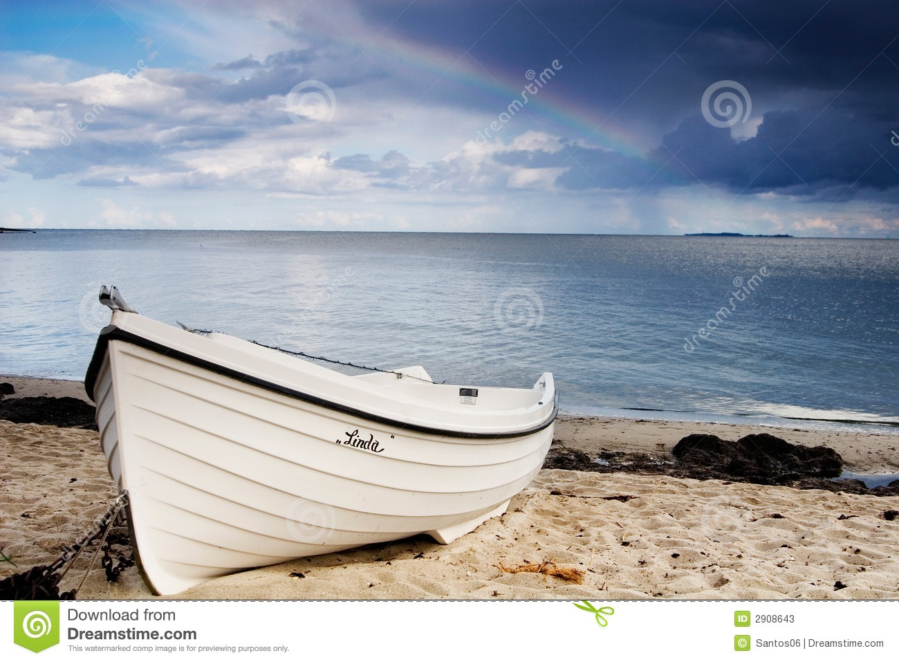 Boat On The Beach Stock Photos - Image: 2908643