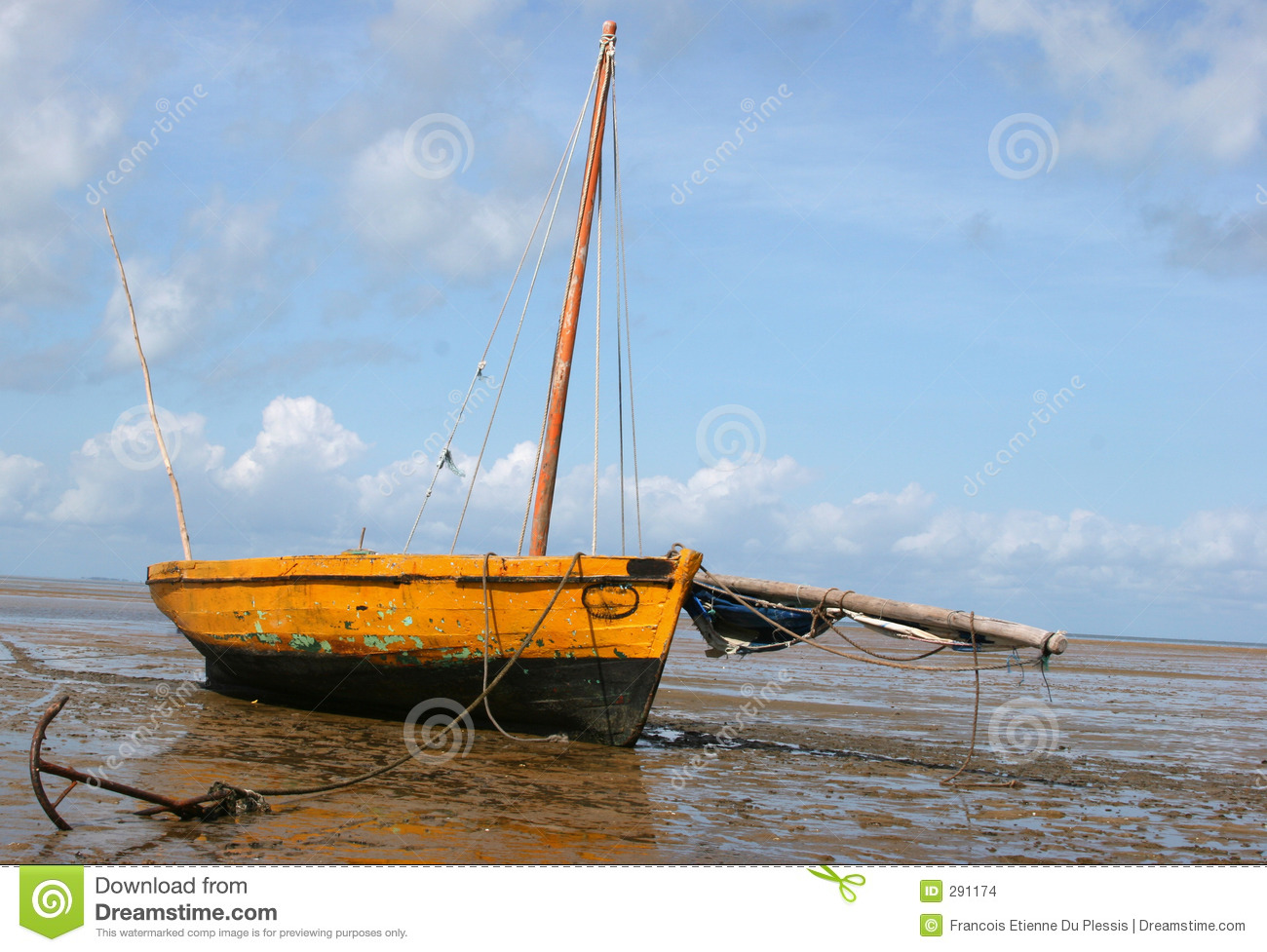 Boat On The Beach Stock Photo Image Of Boat Neglected