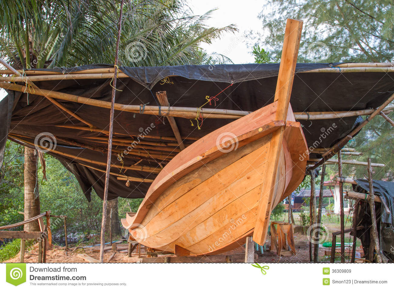 Boat building royalty free stock images image 36309809 for Build fishing boat