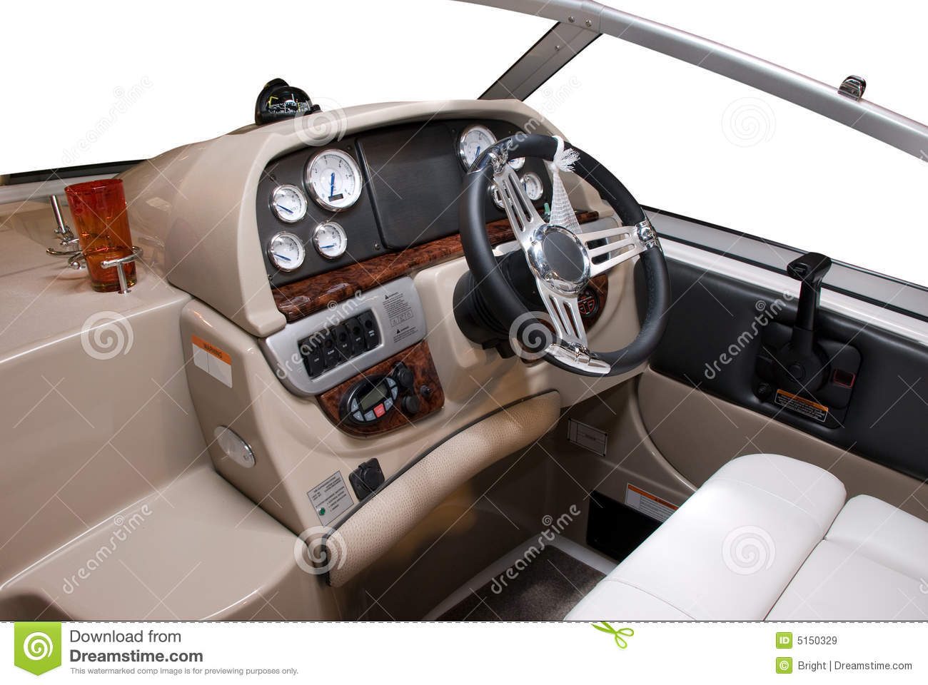 Boat Controls Royalty Free Stock Images Image 5150329