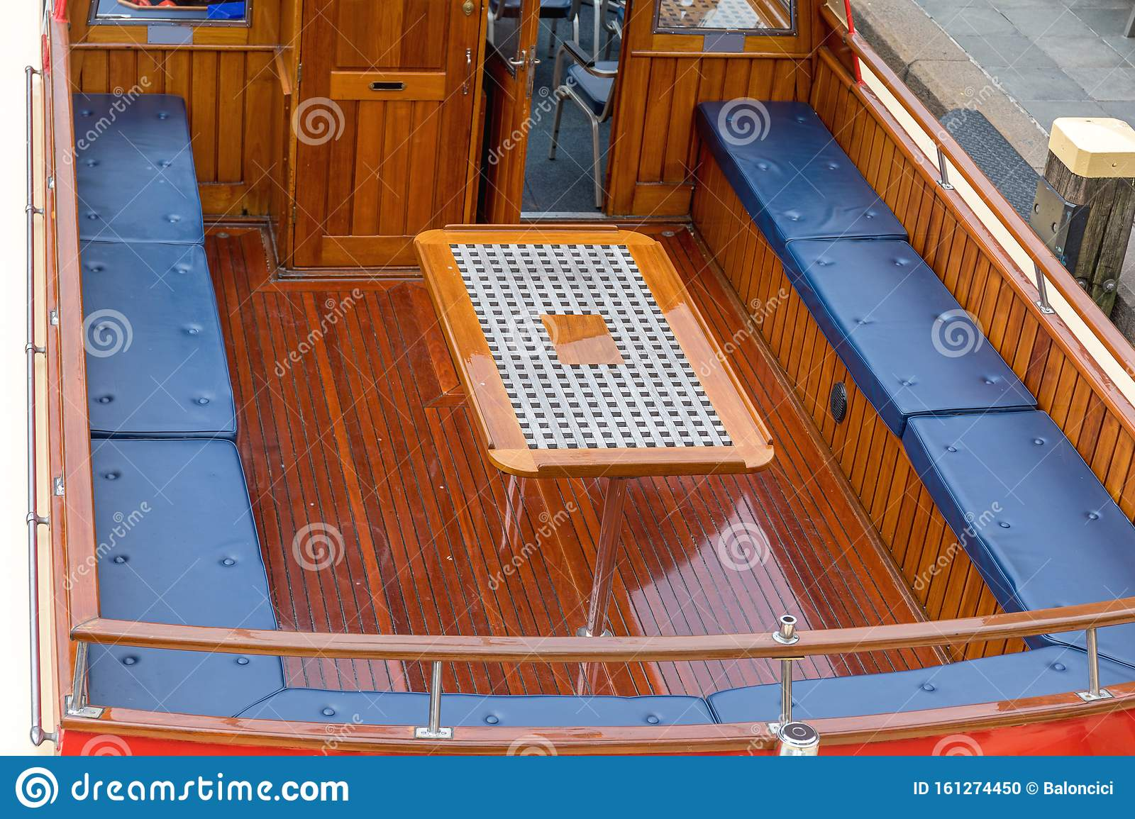 Picture of: Boat Deck Seating Stock Photo Image Of Vessel Seating 161274450