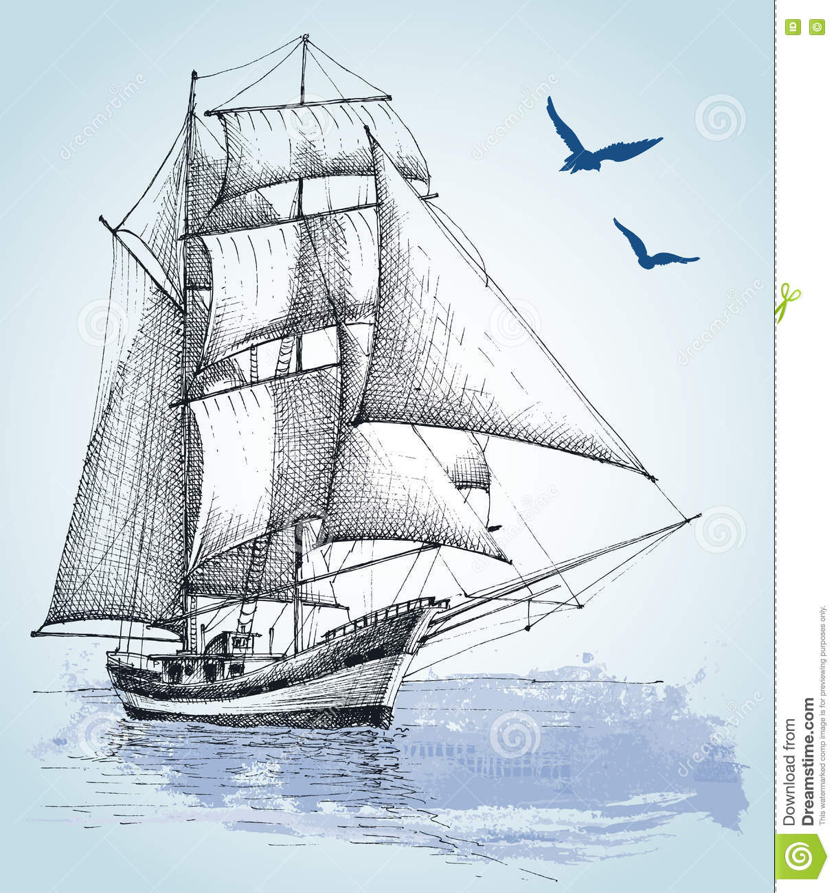 Uncategorized Drawing Boat boat drawing stock vector image 75255277 royalty free download drawing