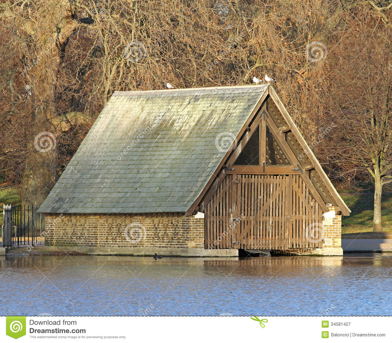 Boat garage royalty free stock photography image 34581427 for Boat garages