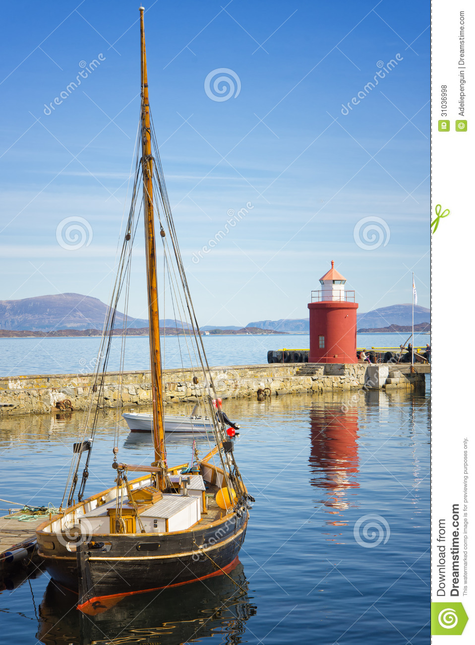 Sail Boat, Alesund, Norway Editorial Stock Photo - Image: 31036998