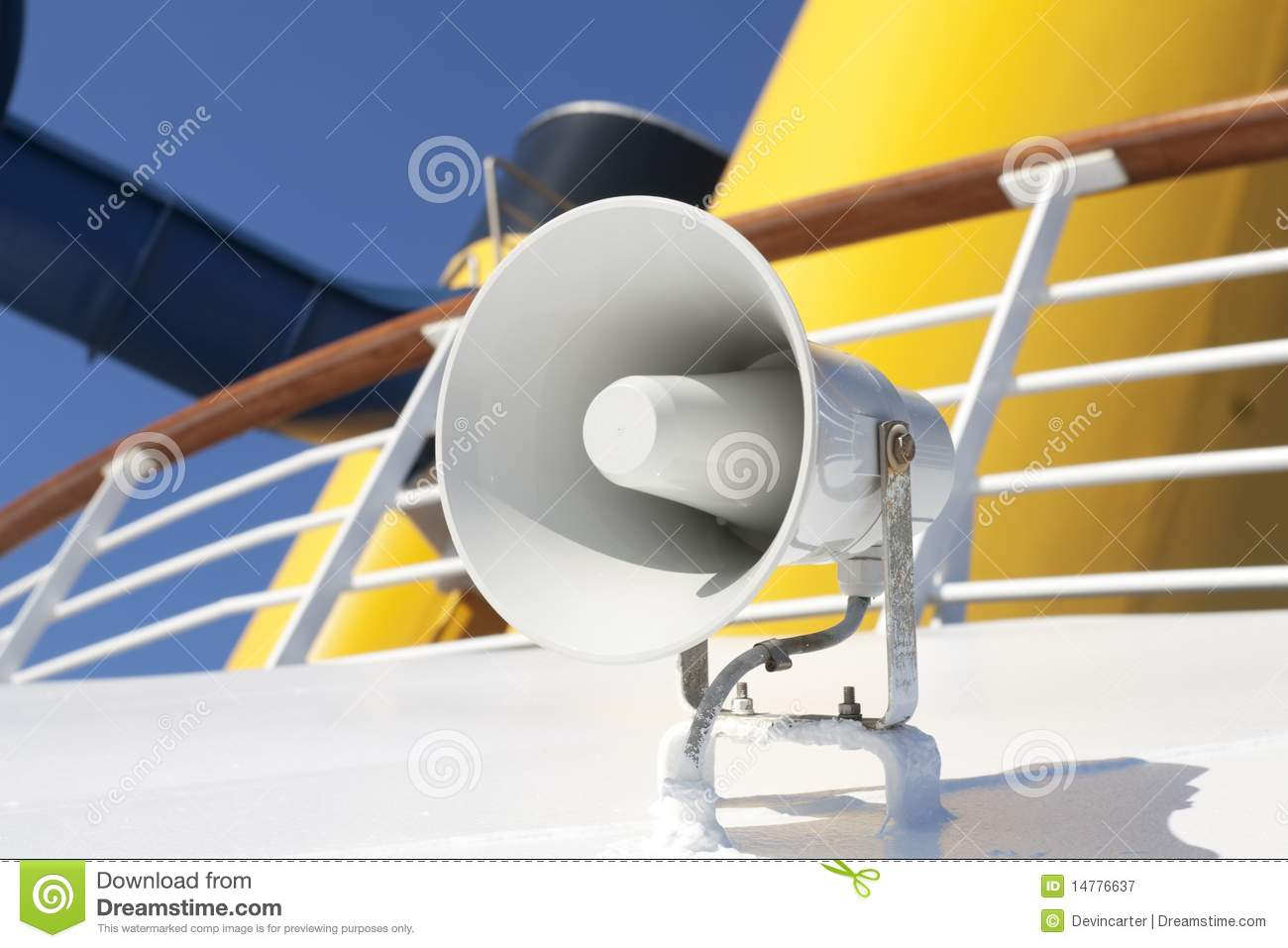 Boat Horn Royalty Free Stock Photography - Image: 14776637