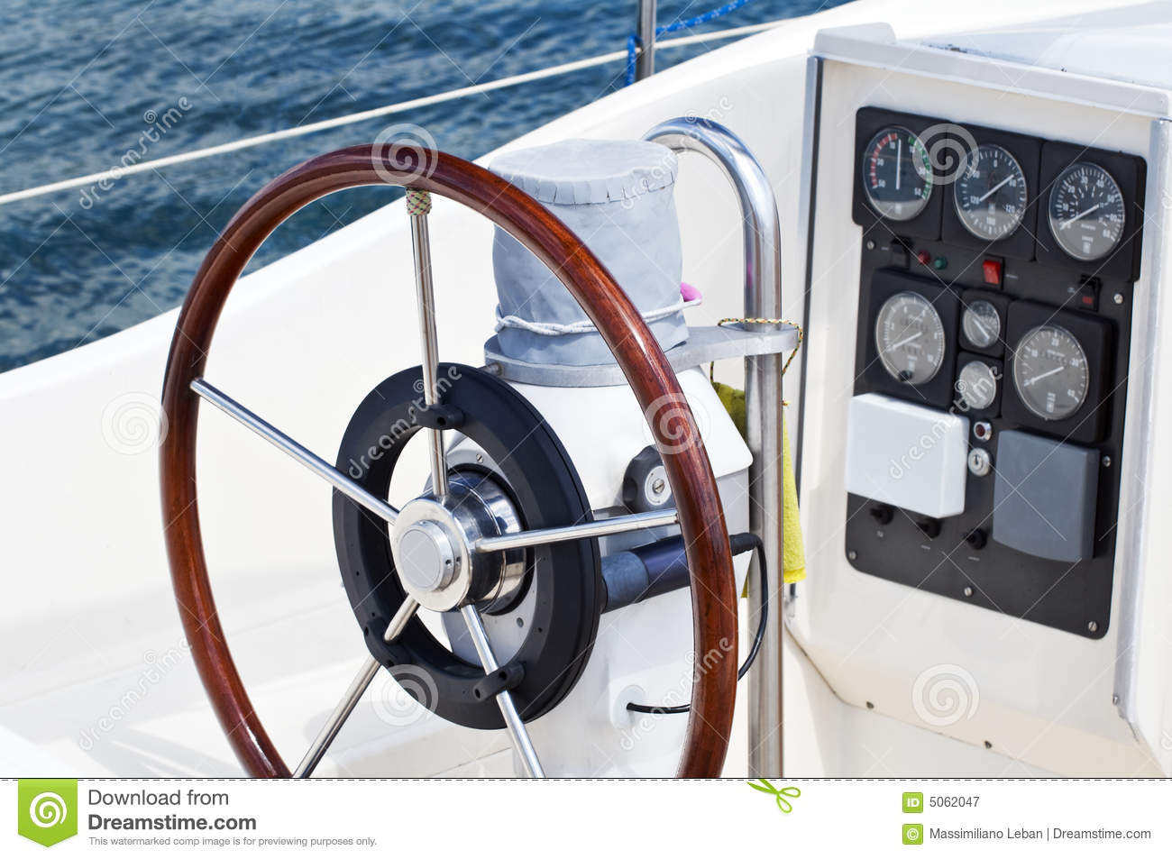 Boat Instruments Royalty Free Stock Photography - Image: 5062047