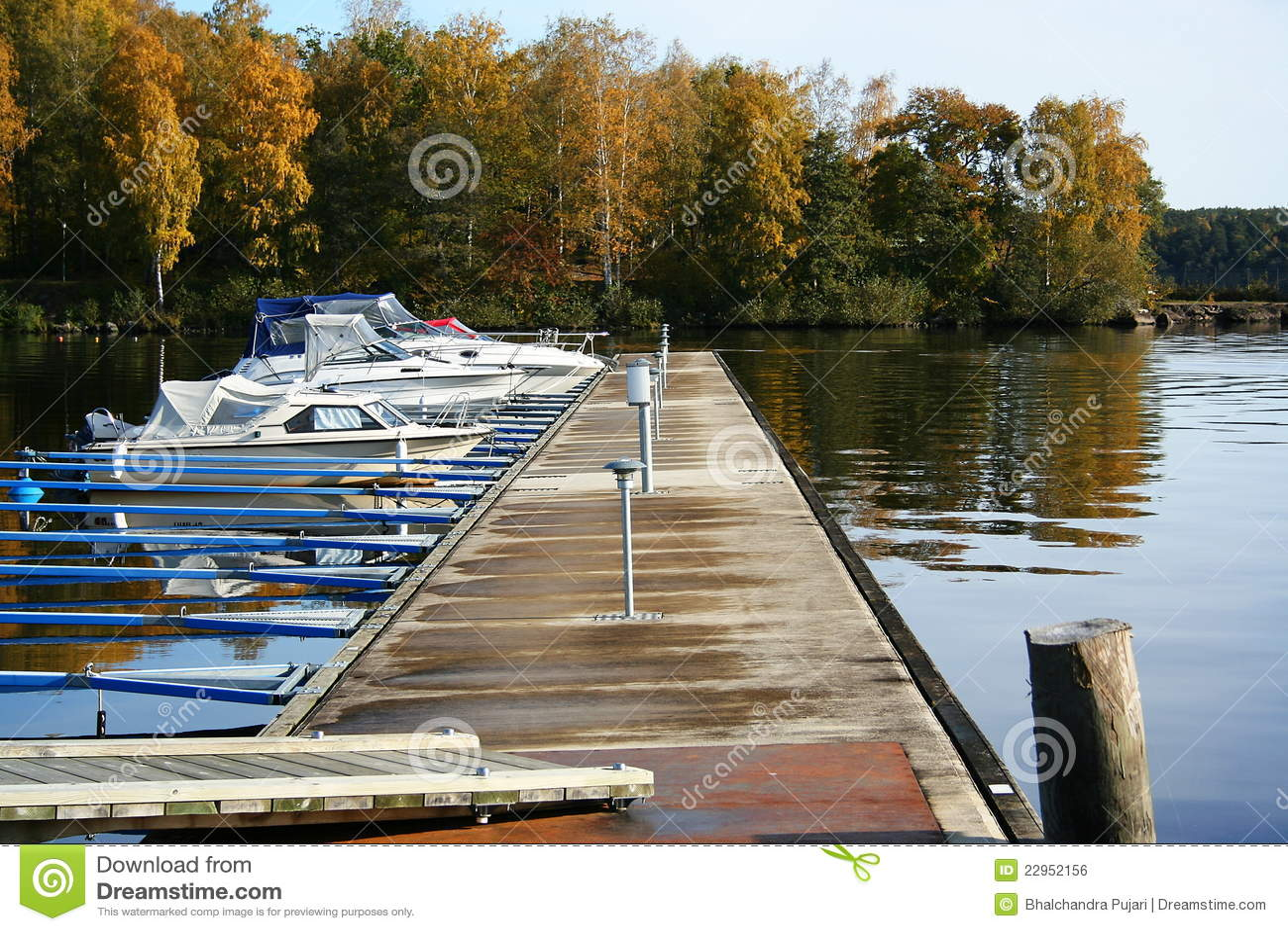 Boat Parking Royalty Free Stock Image - Image: 22952156
