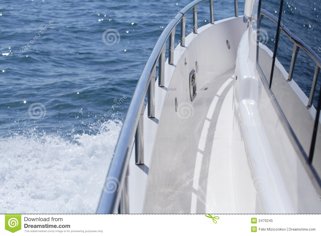 Boat Rail Royalty Free Stock Photo - Image: 2470245