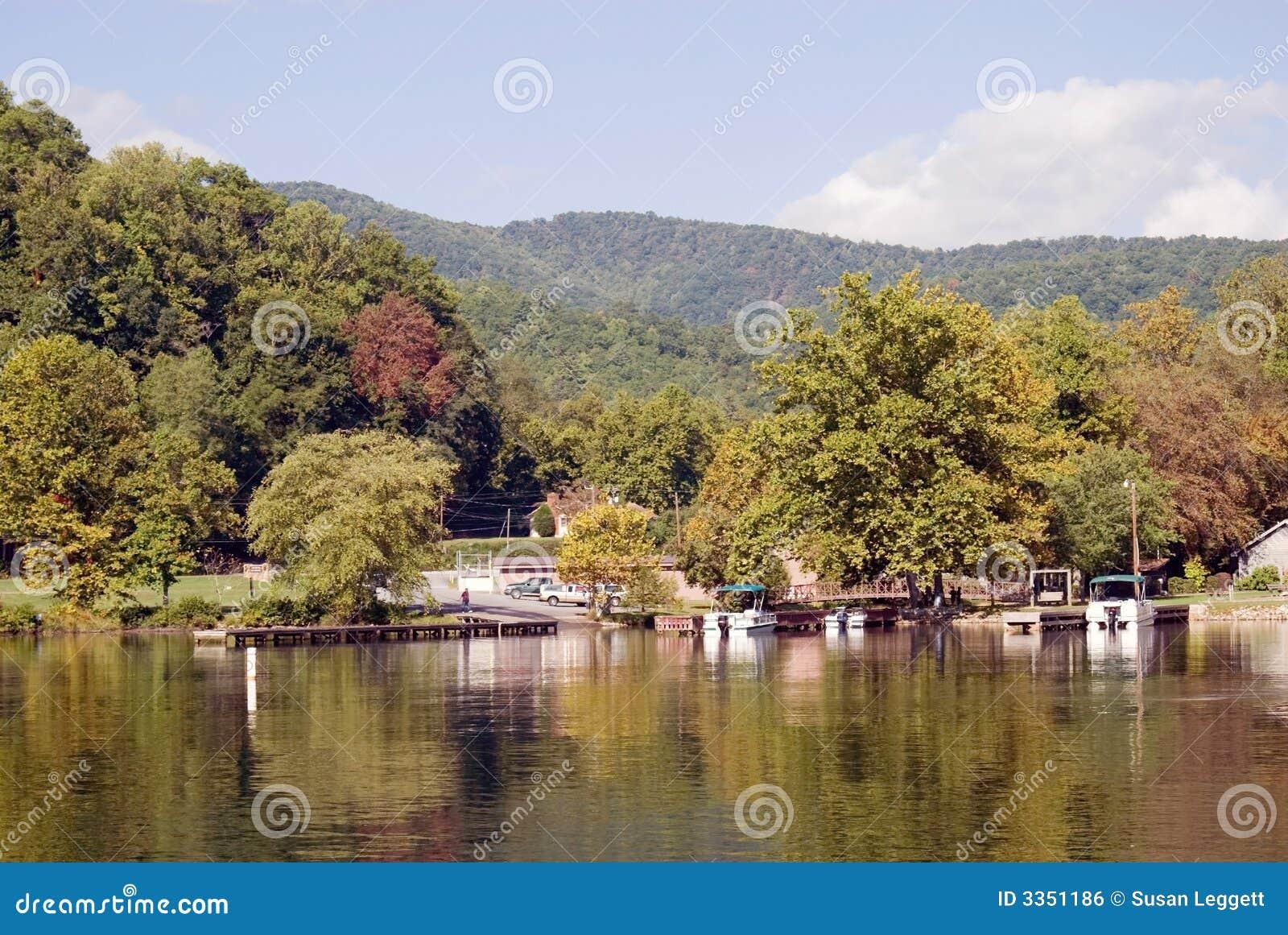 Boat Ramp on Lake