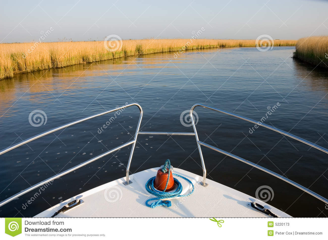 Boat on a River