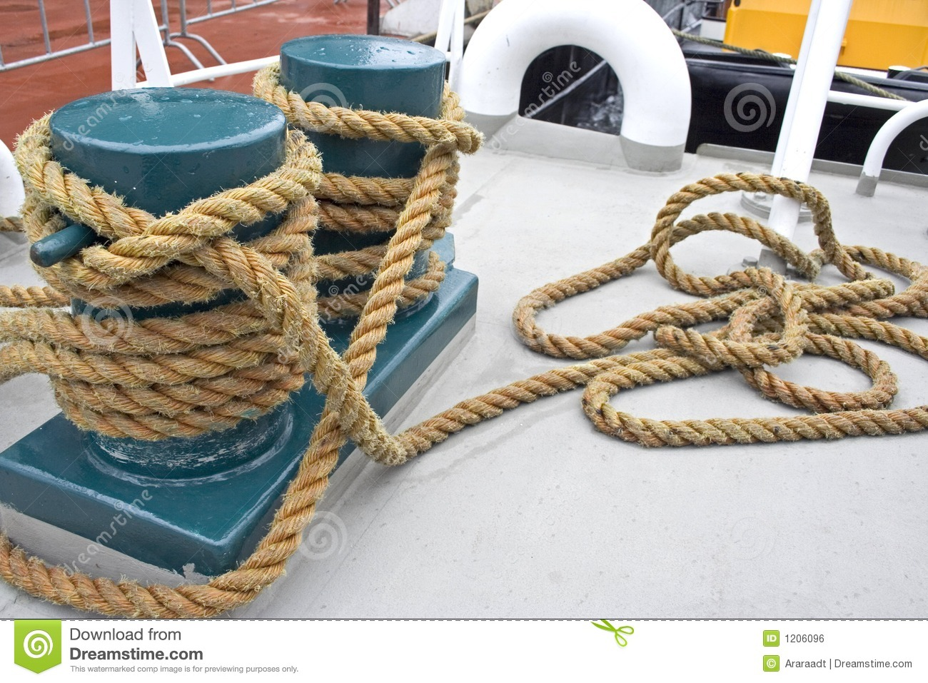 Boat rope stock photo. Image of sport, hobby, knot, circle ...
