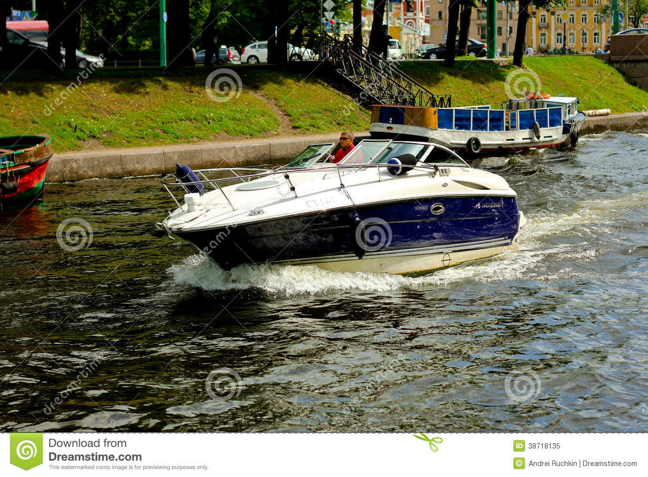 Boat Editorial Image Image 38718135