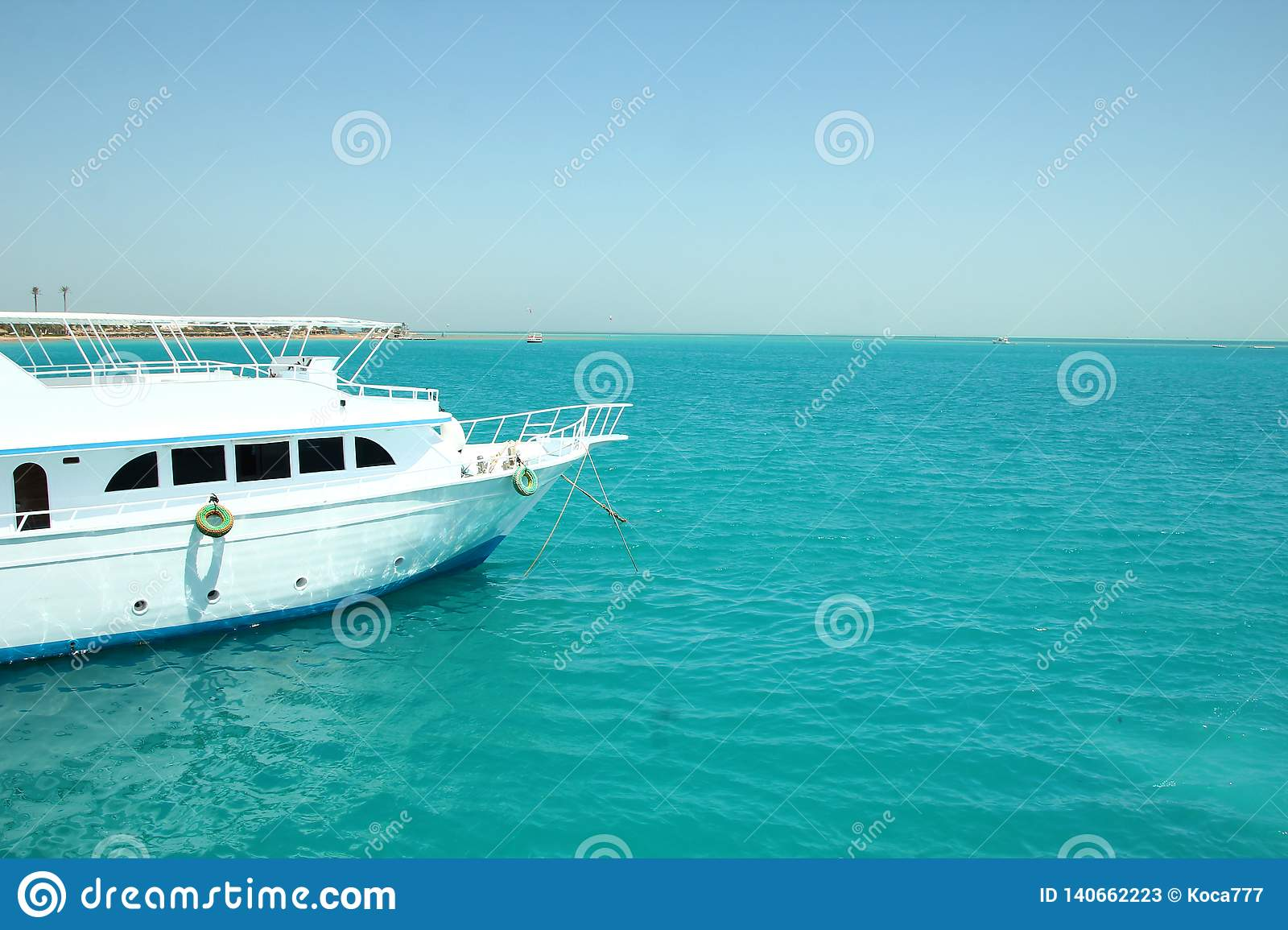 Boat On The Sea Stock Image Image Of Image Computer 140662223