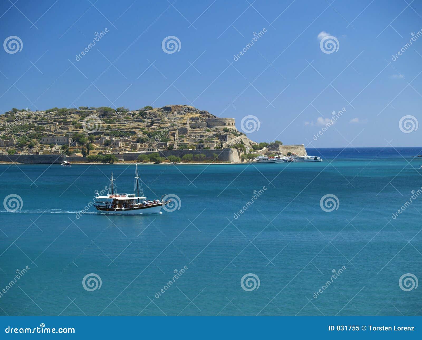 Boat at spinalonga