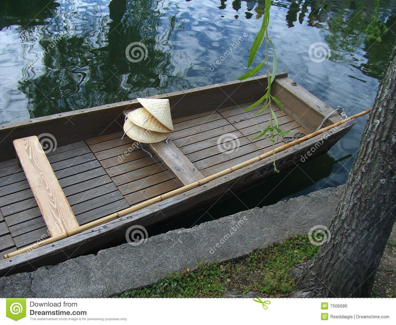 Boat and Straw Hats
