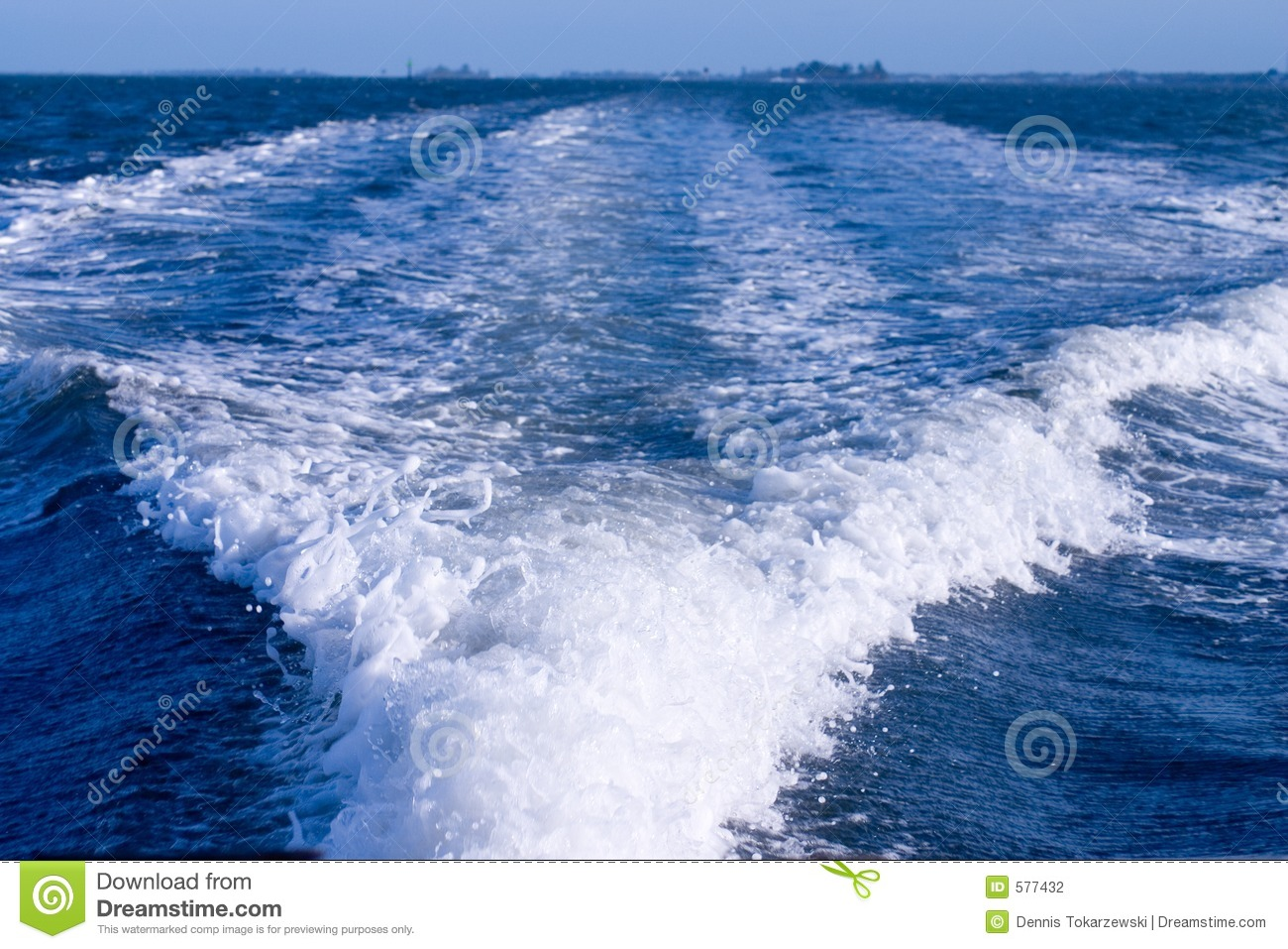 Boat Wake Stock Photography - Image: 577432