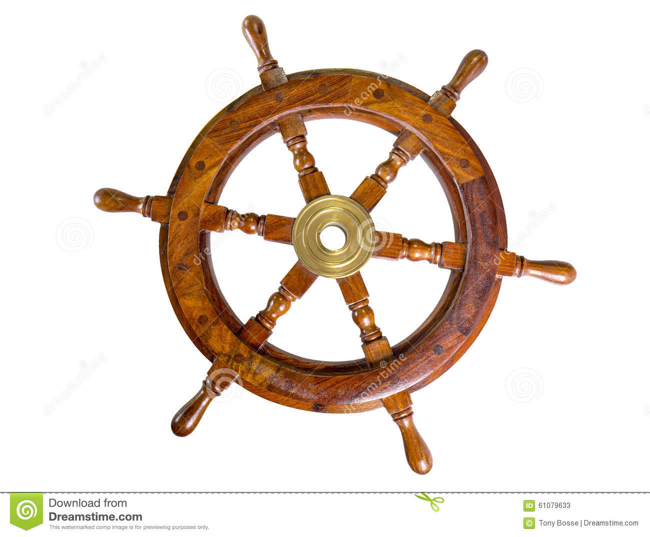 Boat Wheel stock image. Image of leisure, handle, boat - 61079633