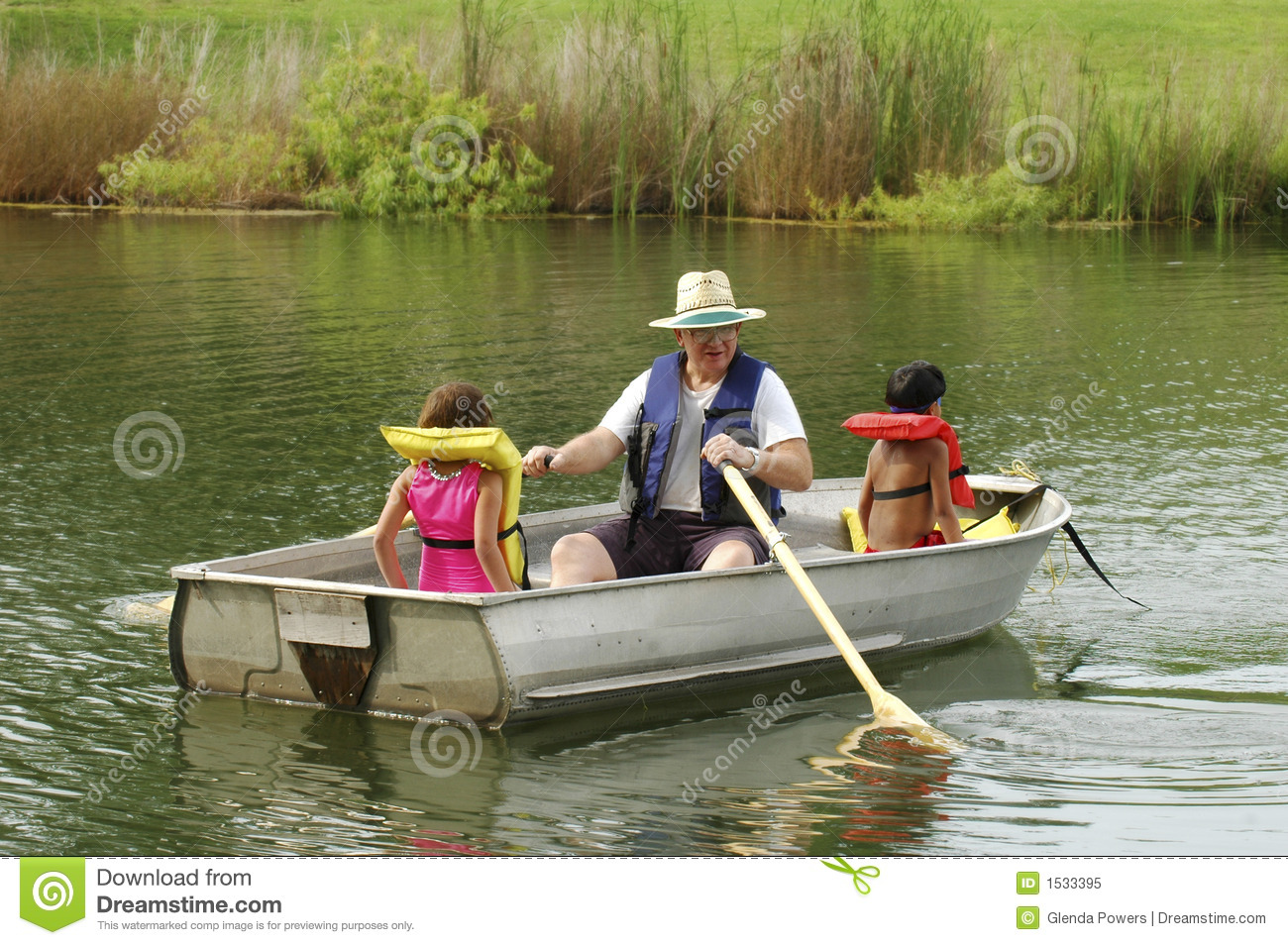 Boating with Grandpa