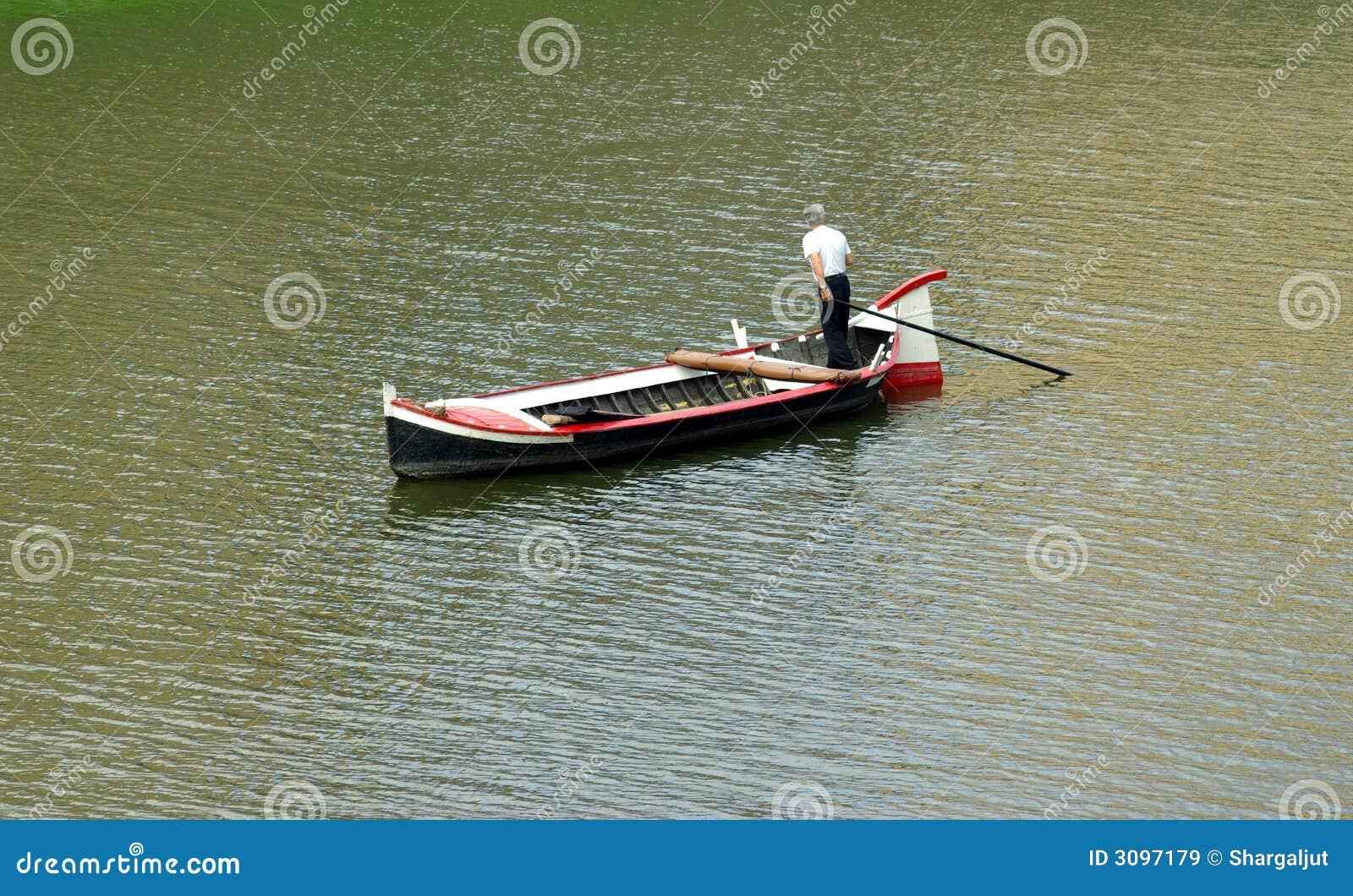 Boatman in Italy