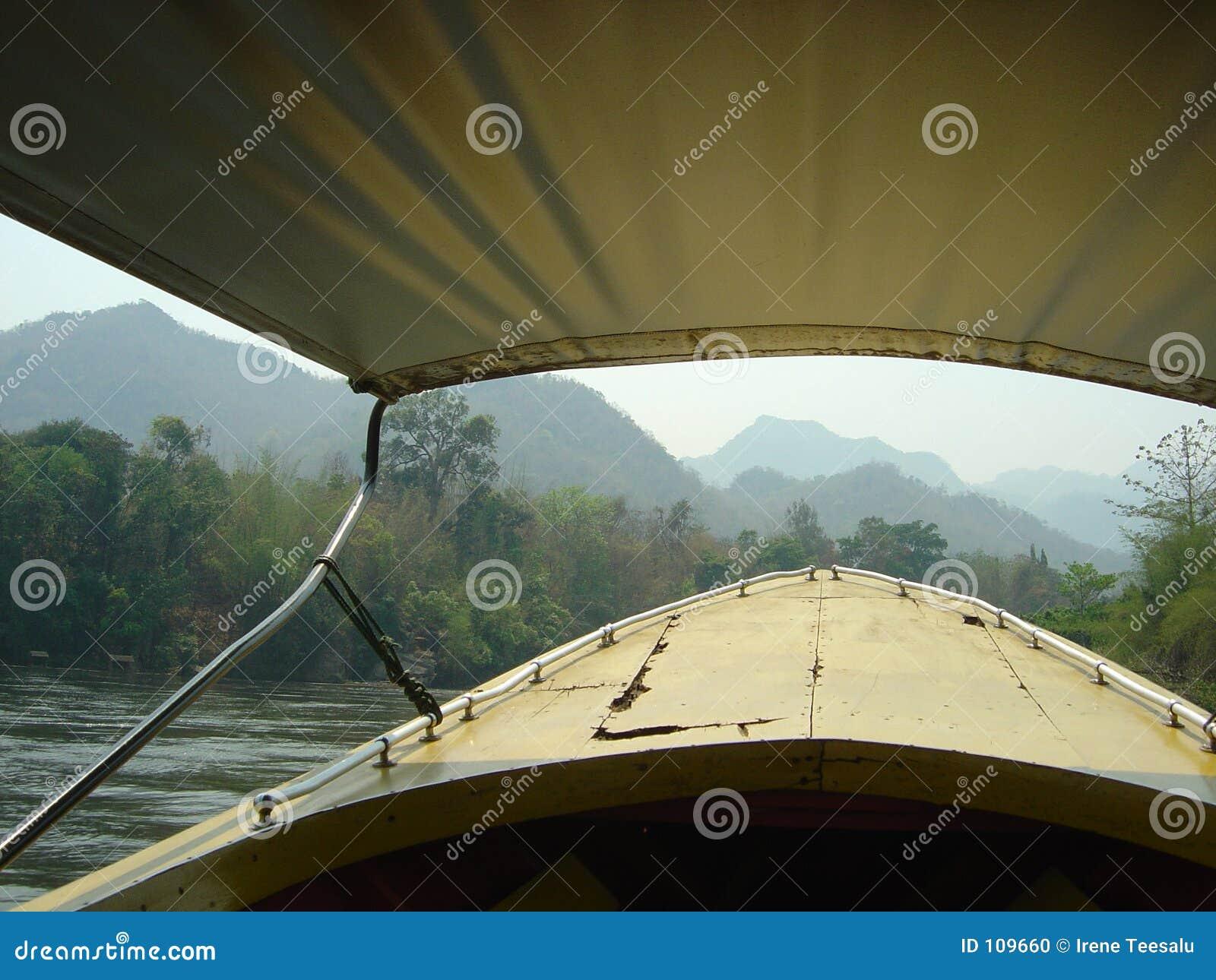 Boatrip no rio Kwai