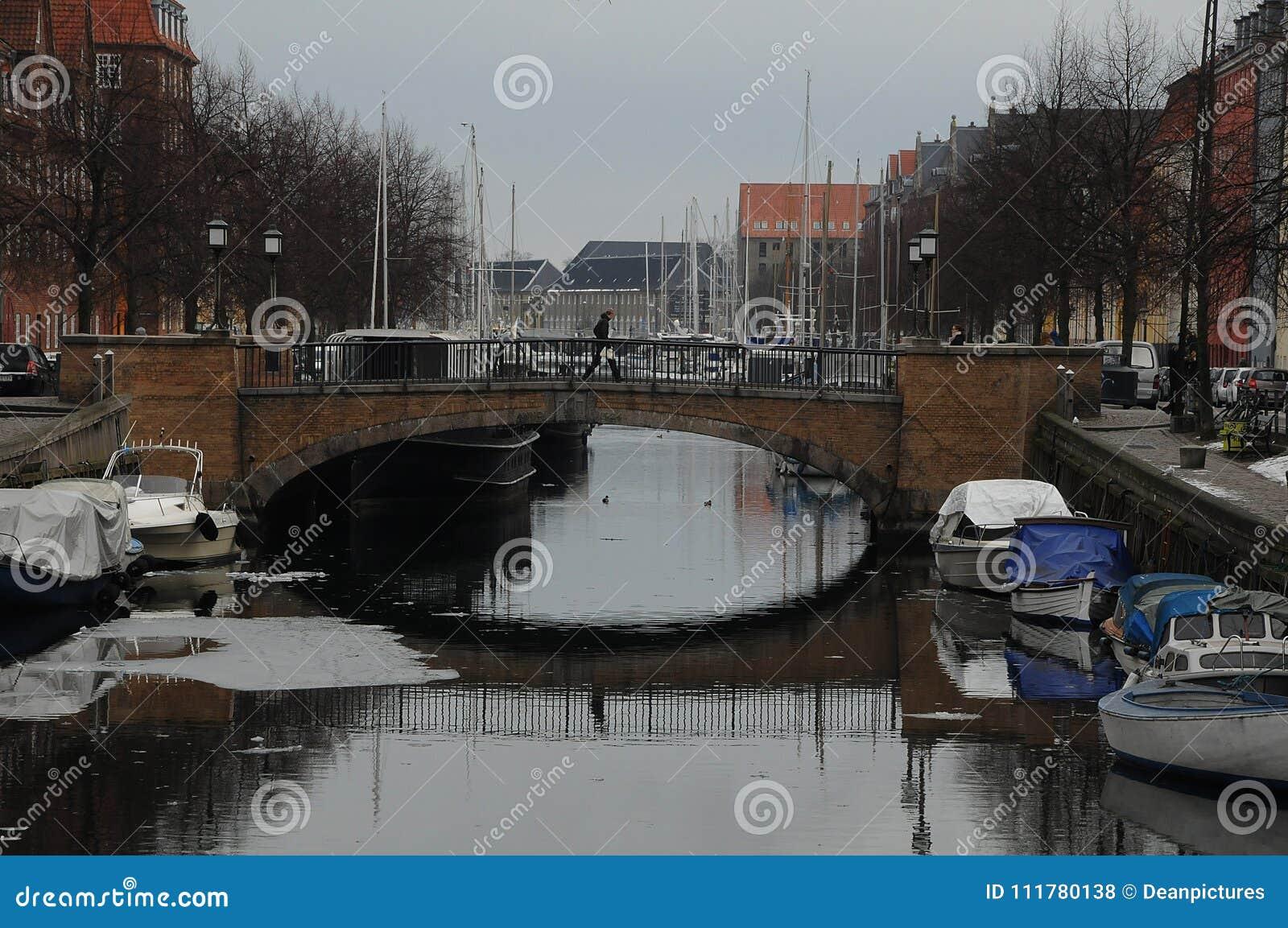 BOATS AT CHRISTIANSHAVN CANAL