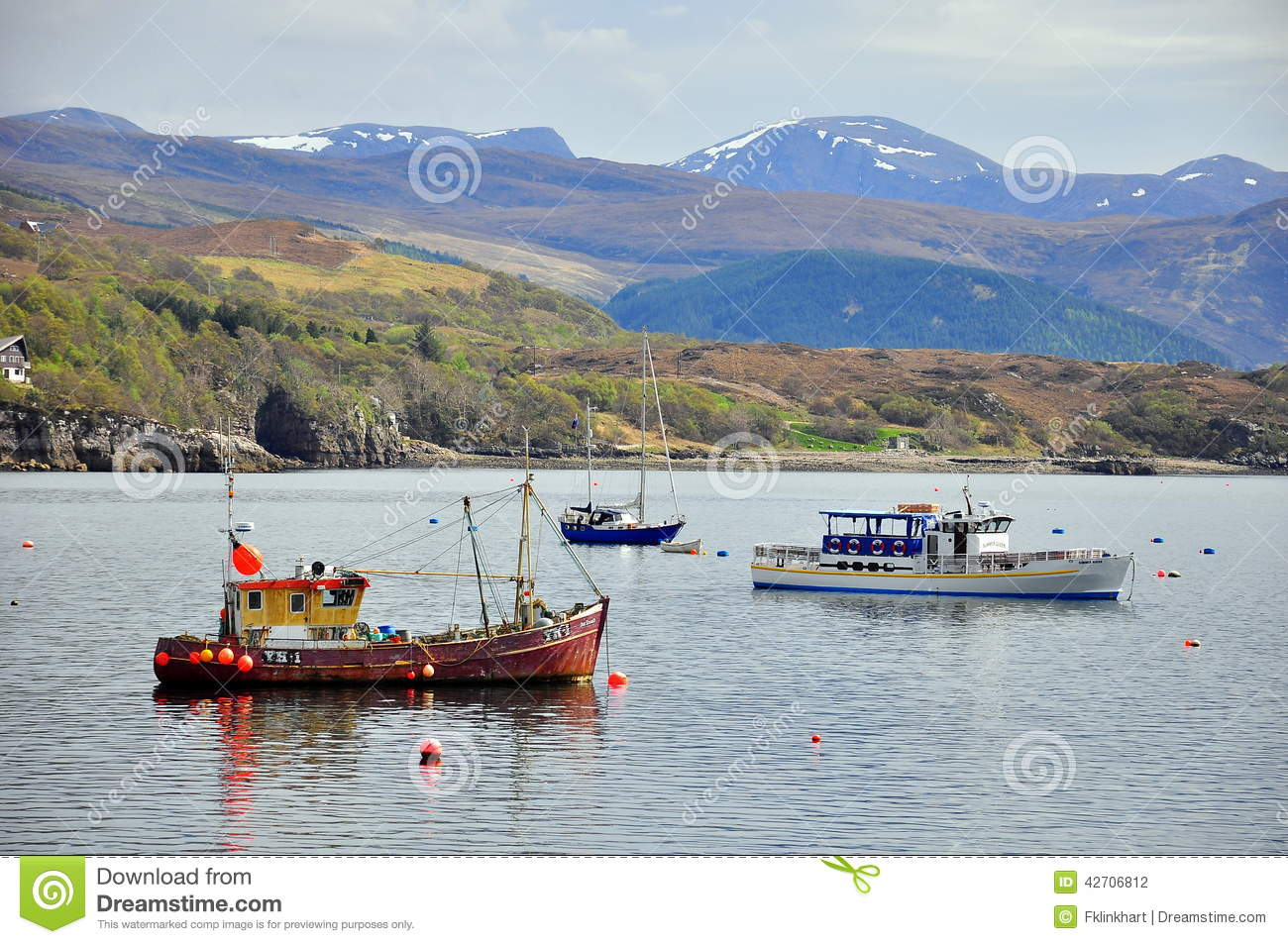 Ullapool United Kingdom  city pictures gallery : ... on Loch Broom near Ullapool, Scottish Highlands / United Kingdom