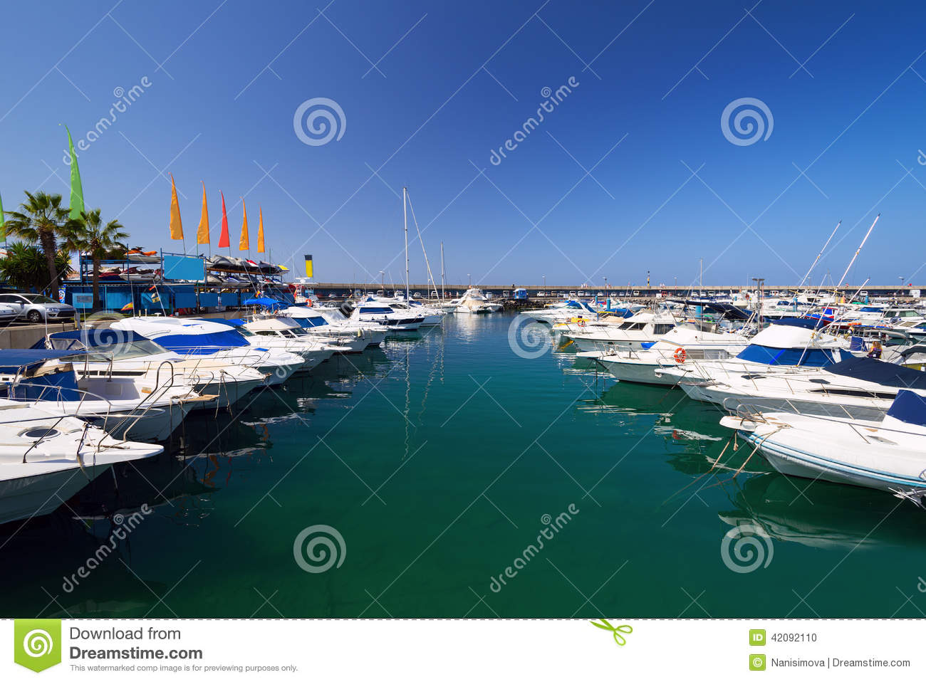 Marina Stock Photo - Image: 57757991