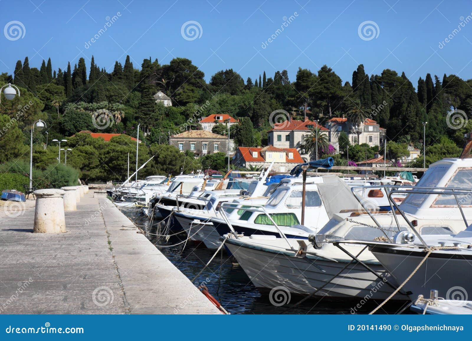 Boats at the mooring