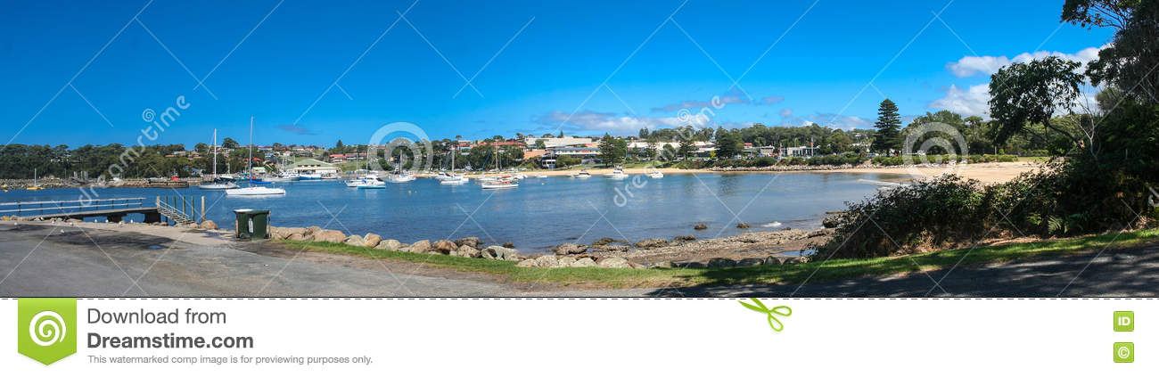 Boats on Ulladulla Harbour New South Wales