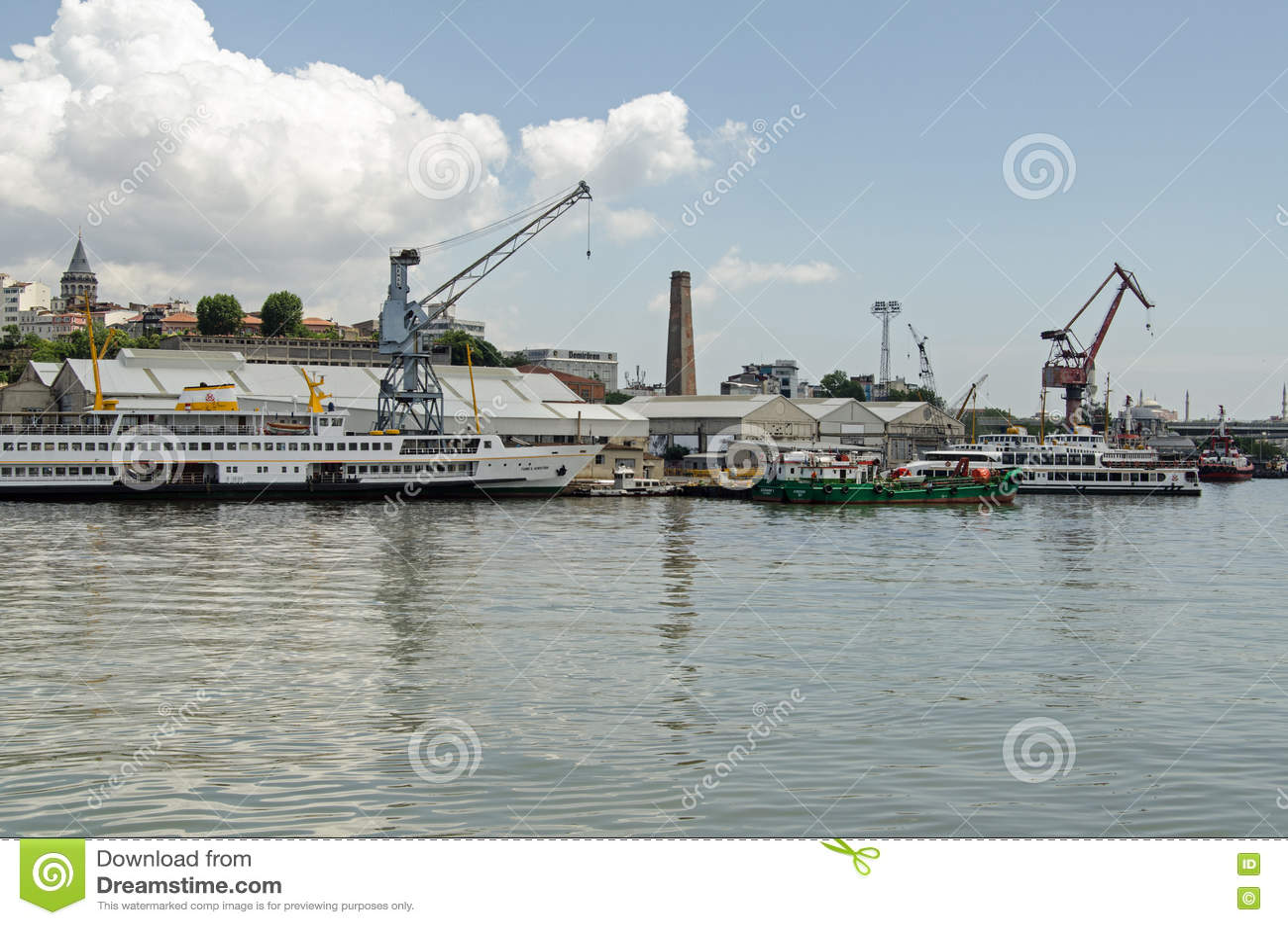 Boatyard, chifre dourado, Istambul