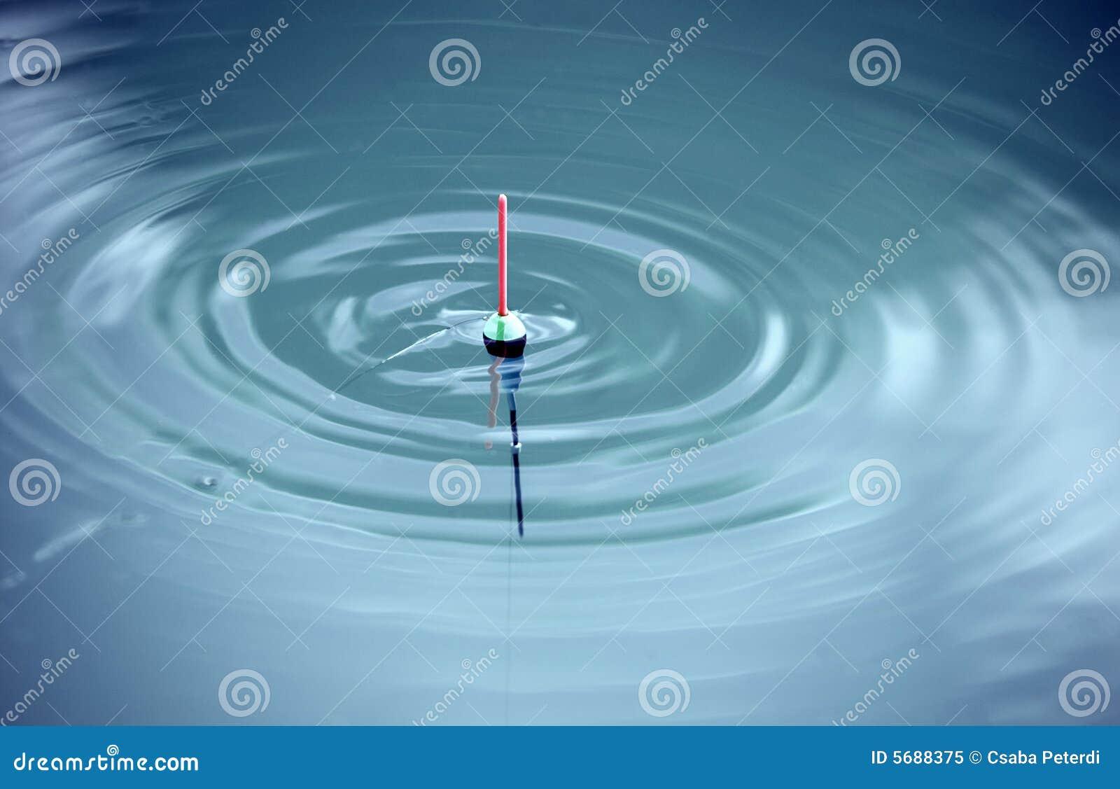 Bobber met horizontale golven