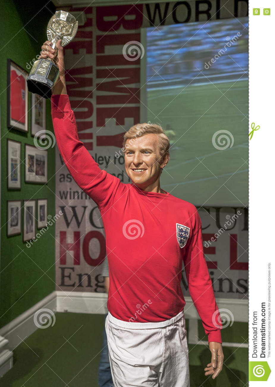 Bobby Moore editorial stock image Image of figure museum