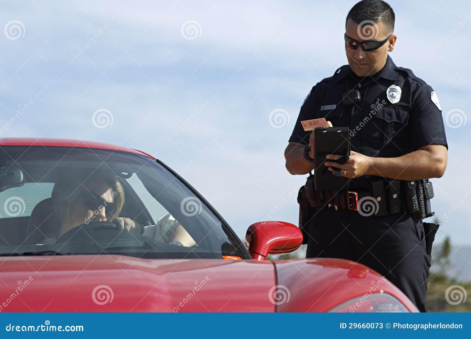 Bobina de tráfego pelo carro de esportes