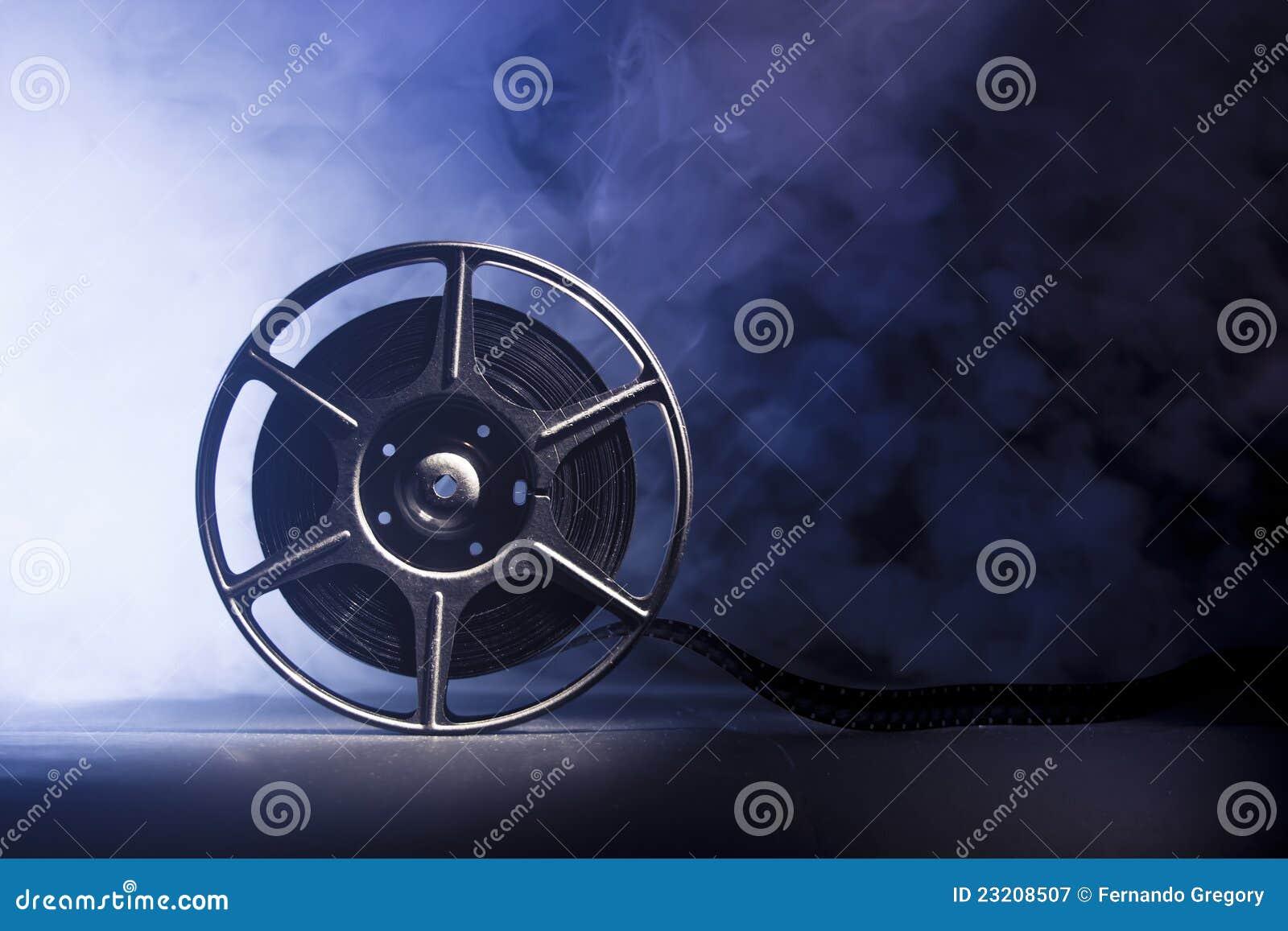 Bobina di film con la pellicola