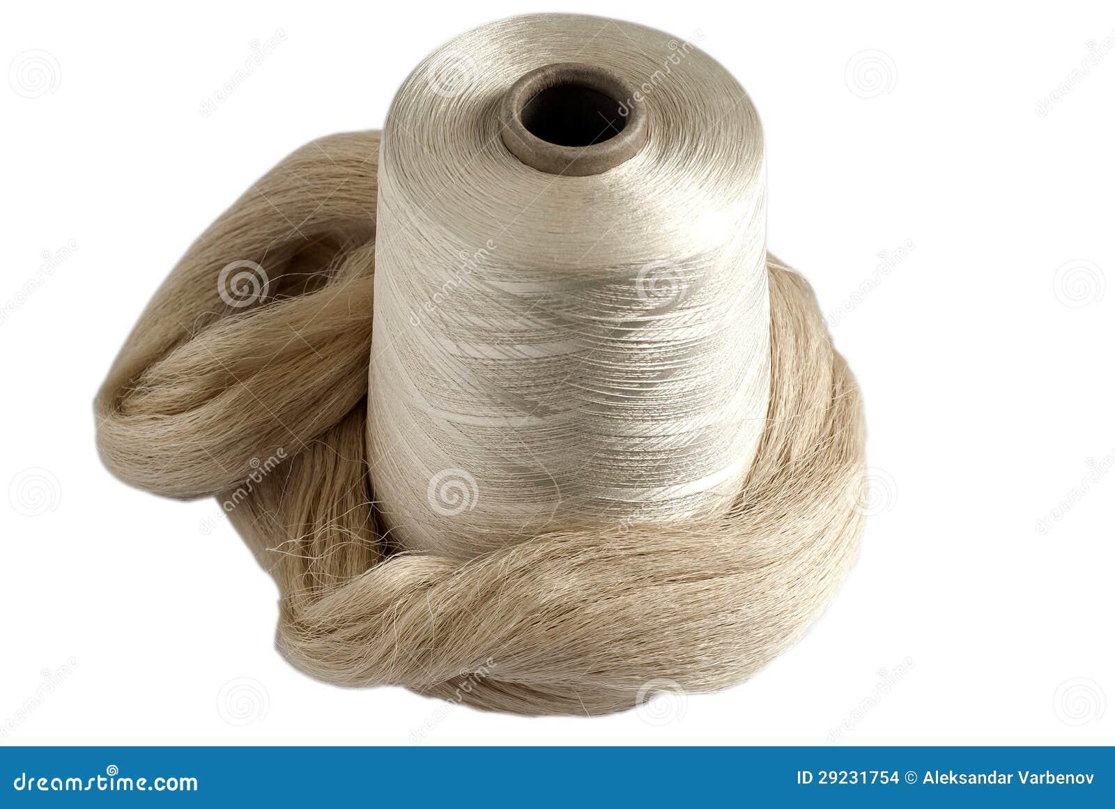 Download Bobina Do Fio De Seda E Skein De Seda Cru Foto de Stock - Imagem de torcido, pattern: 29231754