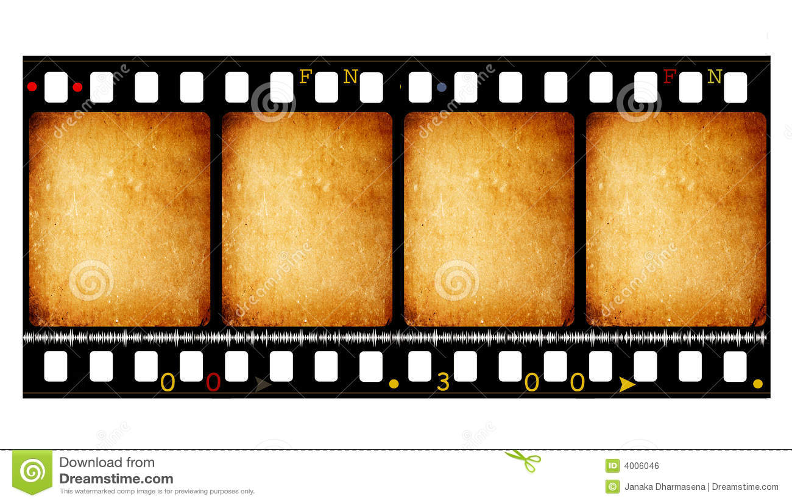 Bobine de film de film de 35 millimètres