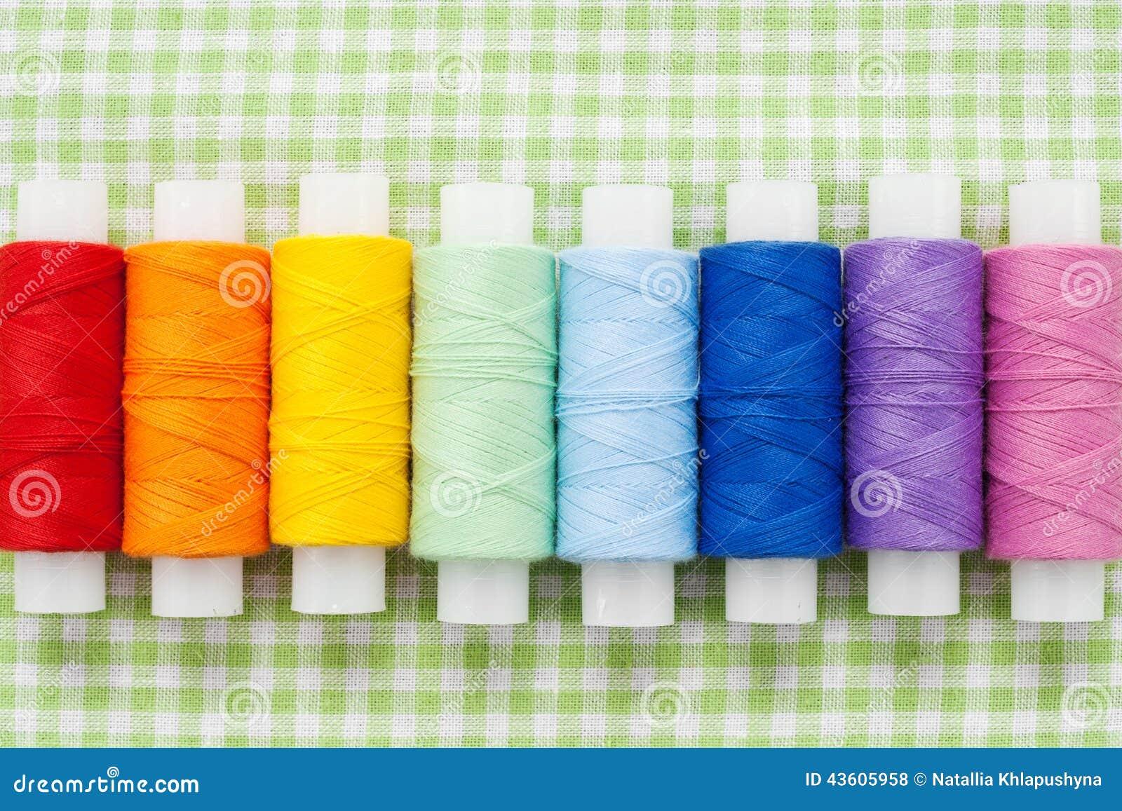 Bobine del filo del colorfull