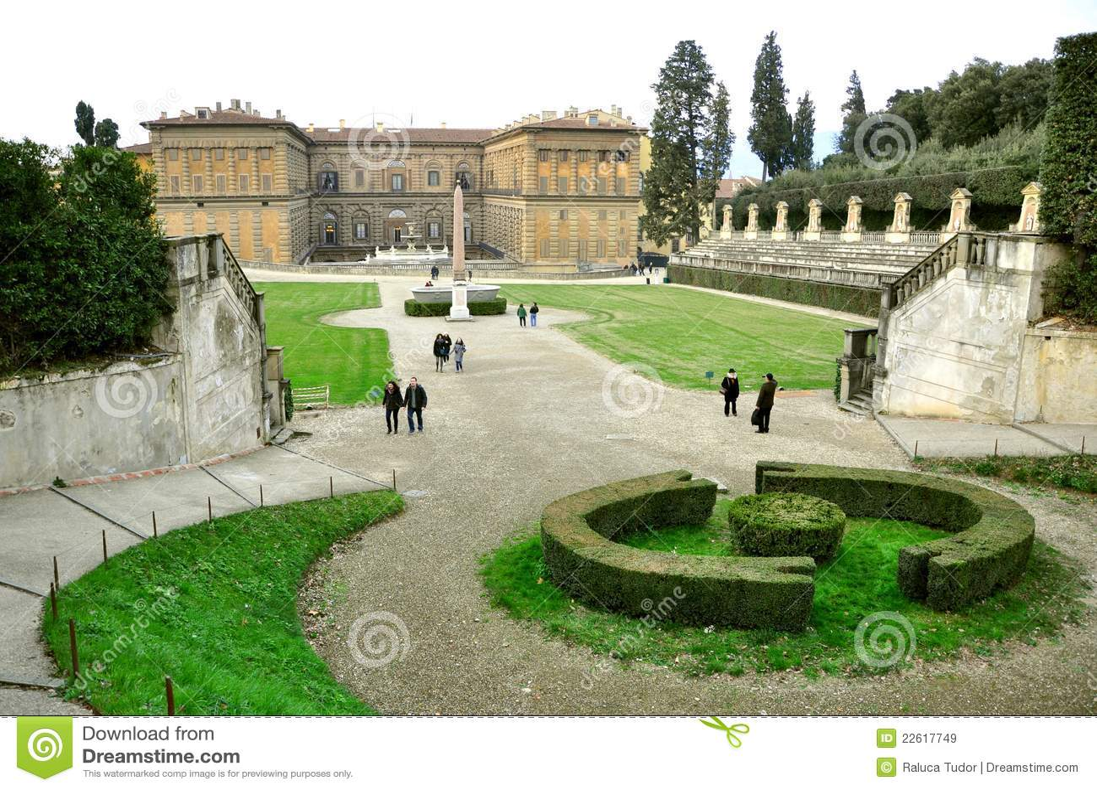 Boboli Gardens In Florence Italy Editorial Stock Image Image Of