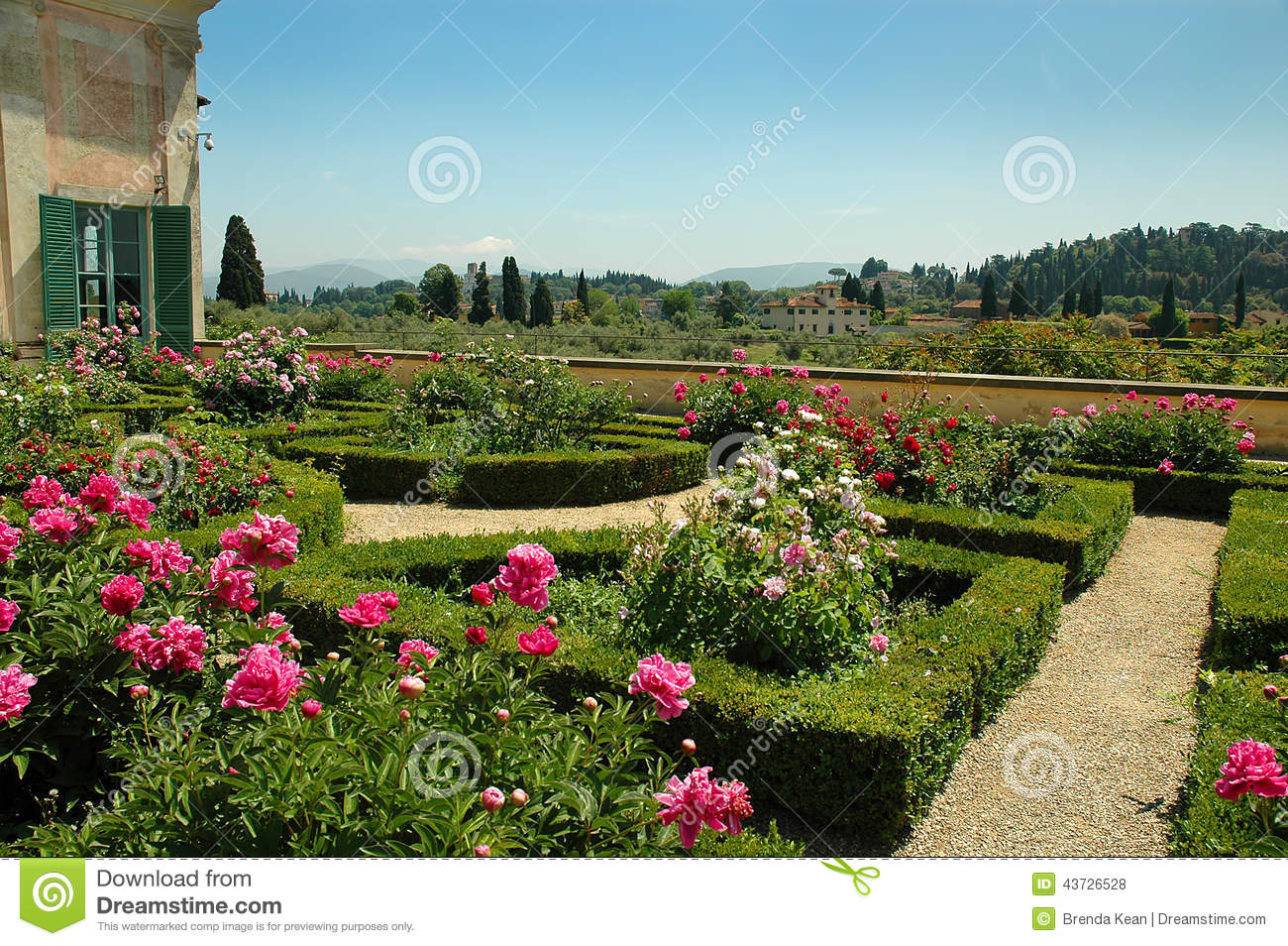The boboli gardens in florence tuscany editorial stock for Is florence in tuscany
