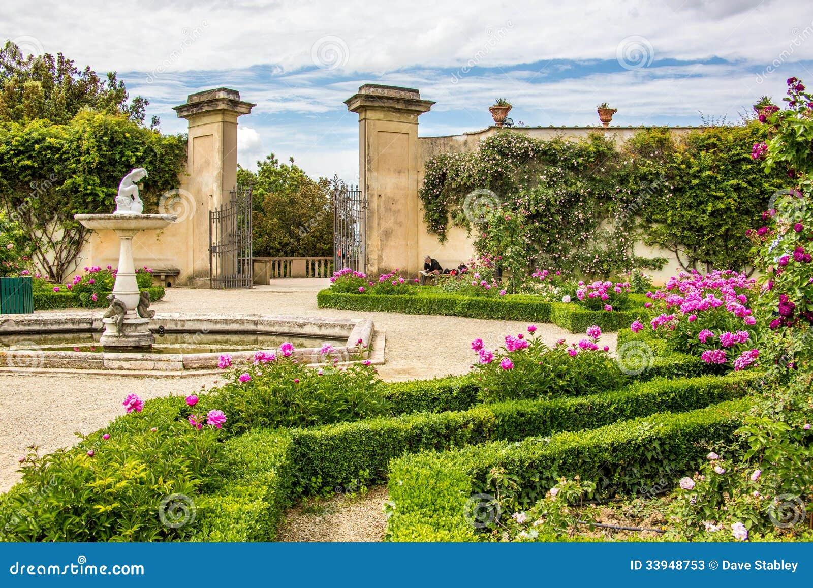 Boboli gardens giardini di boboli florence stock image for Garden giardini