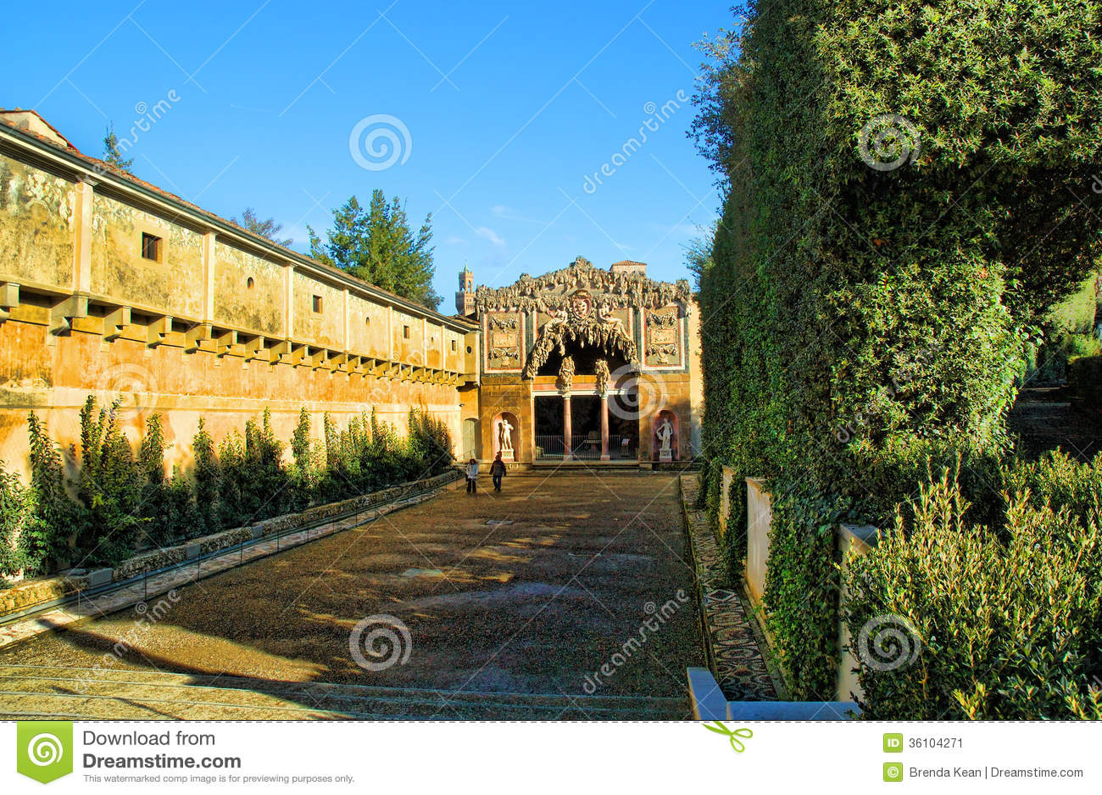 The Boboli Gardens Grotto Editorial Photo Image Of Churches