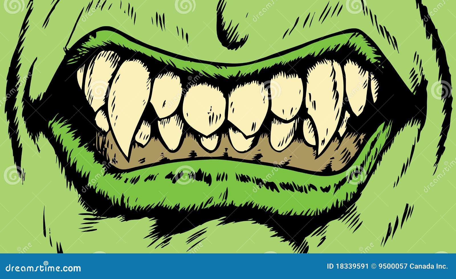 Boca del monstruo