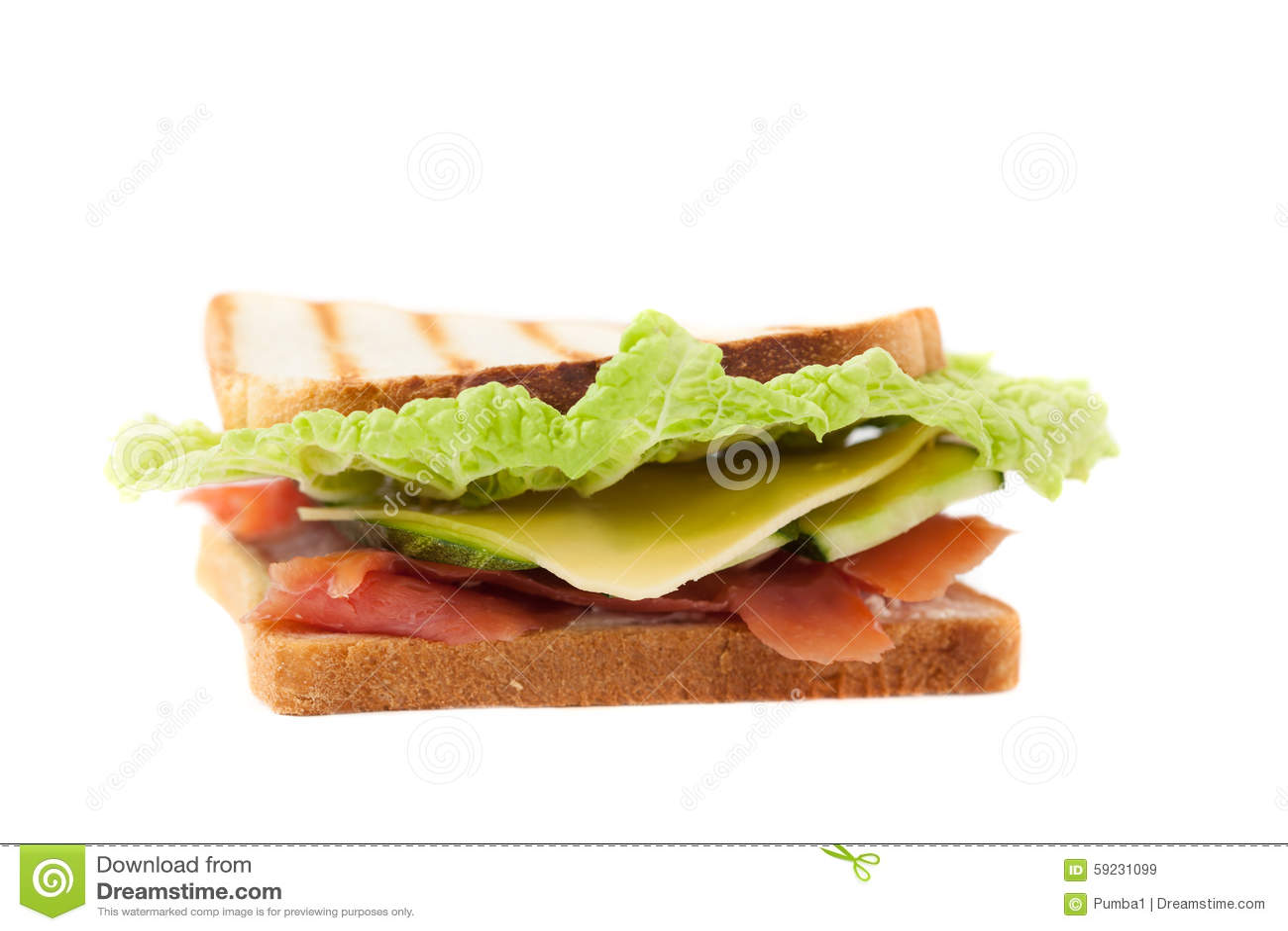 Download Bocadillo En Un Fondo Blanco Imagen de archivo - Imagen de tostada, rápido: 59231099