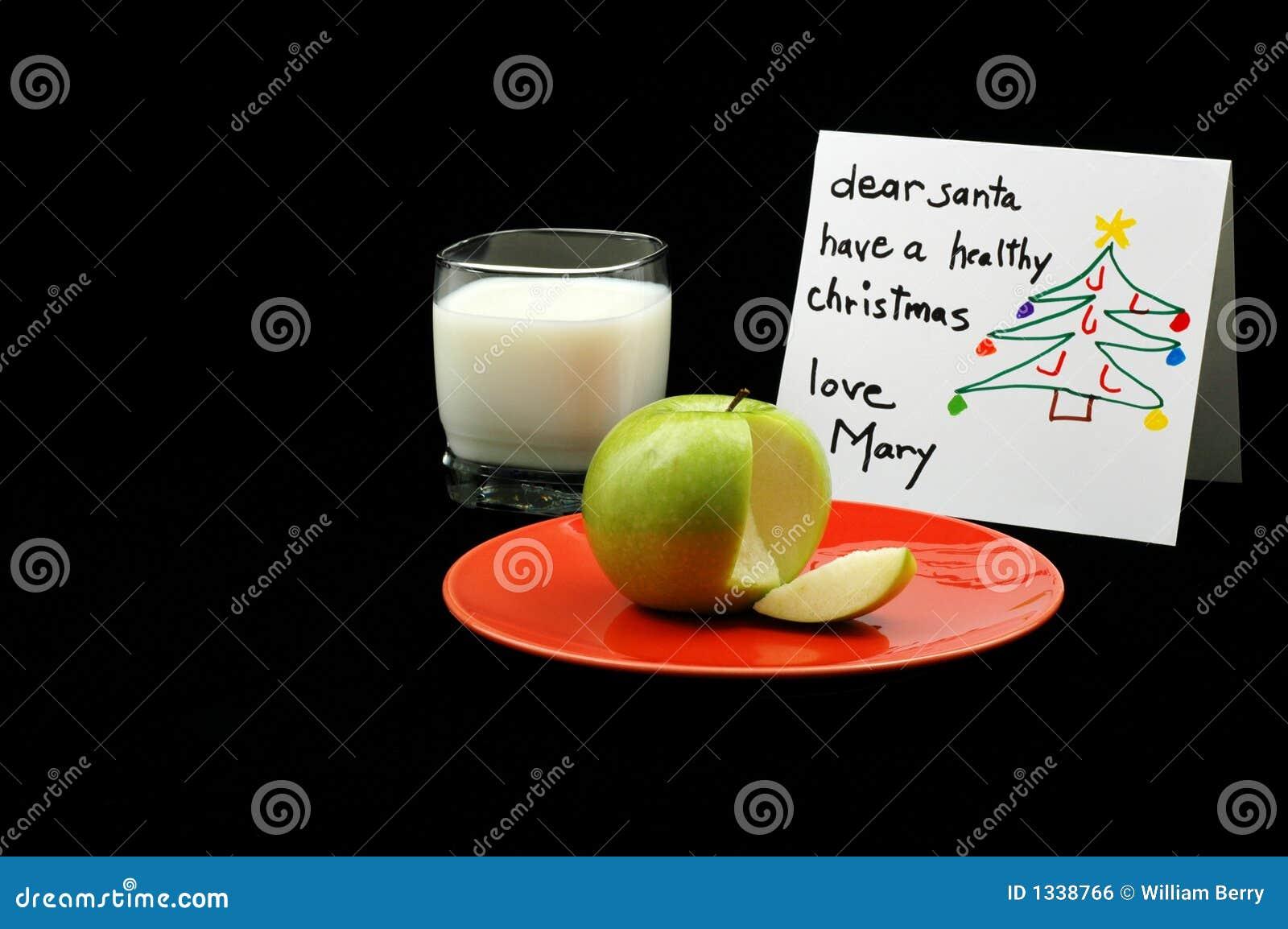 Bocado sano de Santa
