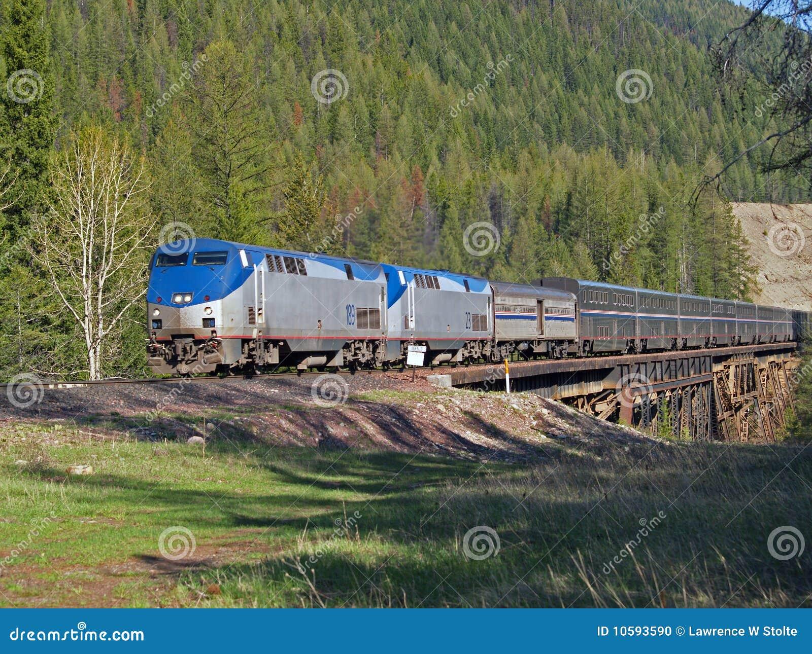 Bock för crossingpassageraretrail