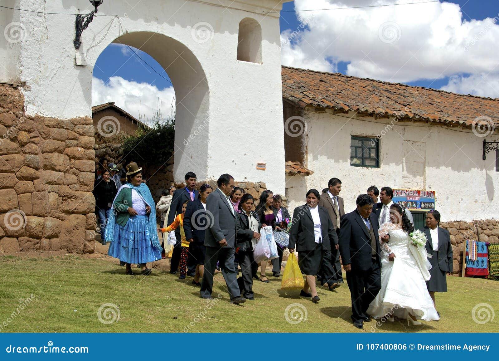 Matrimonio Catolico Tradicional : Boda quechua tradicional perú foto editorial imagen de