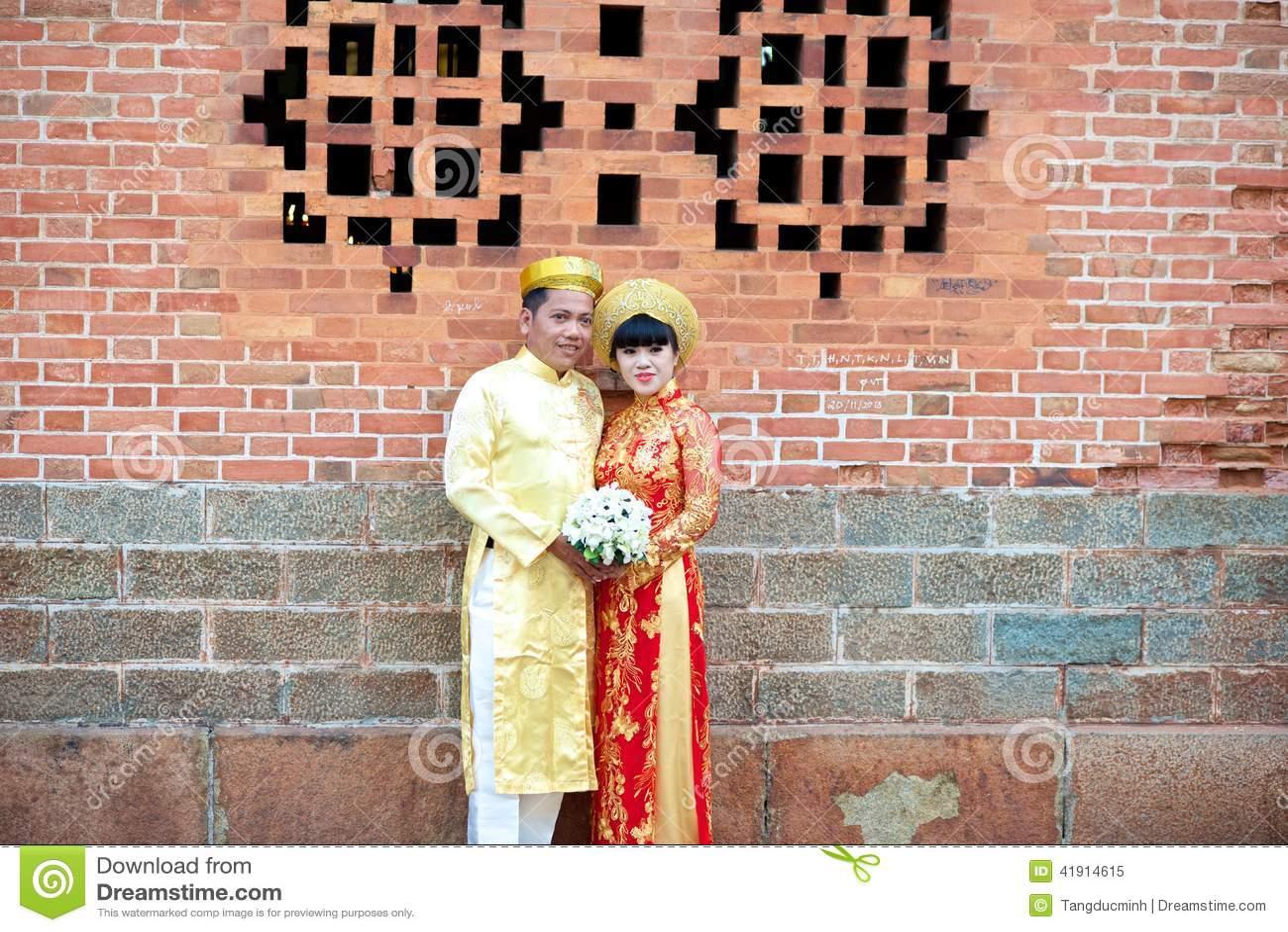 Boda tradicional en Vietnam
