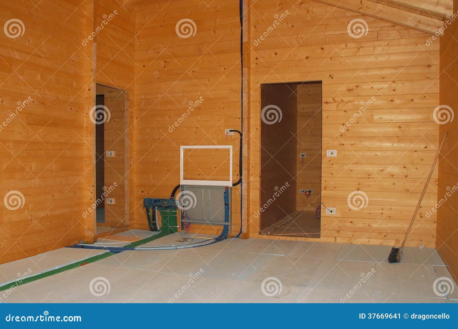 boden isolierung im neuen holzhaus stockbild bild 37669641. Black Bedroom Furniture Sets. Home Design Ideas