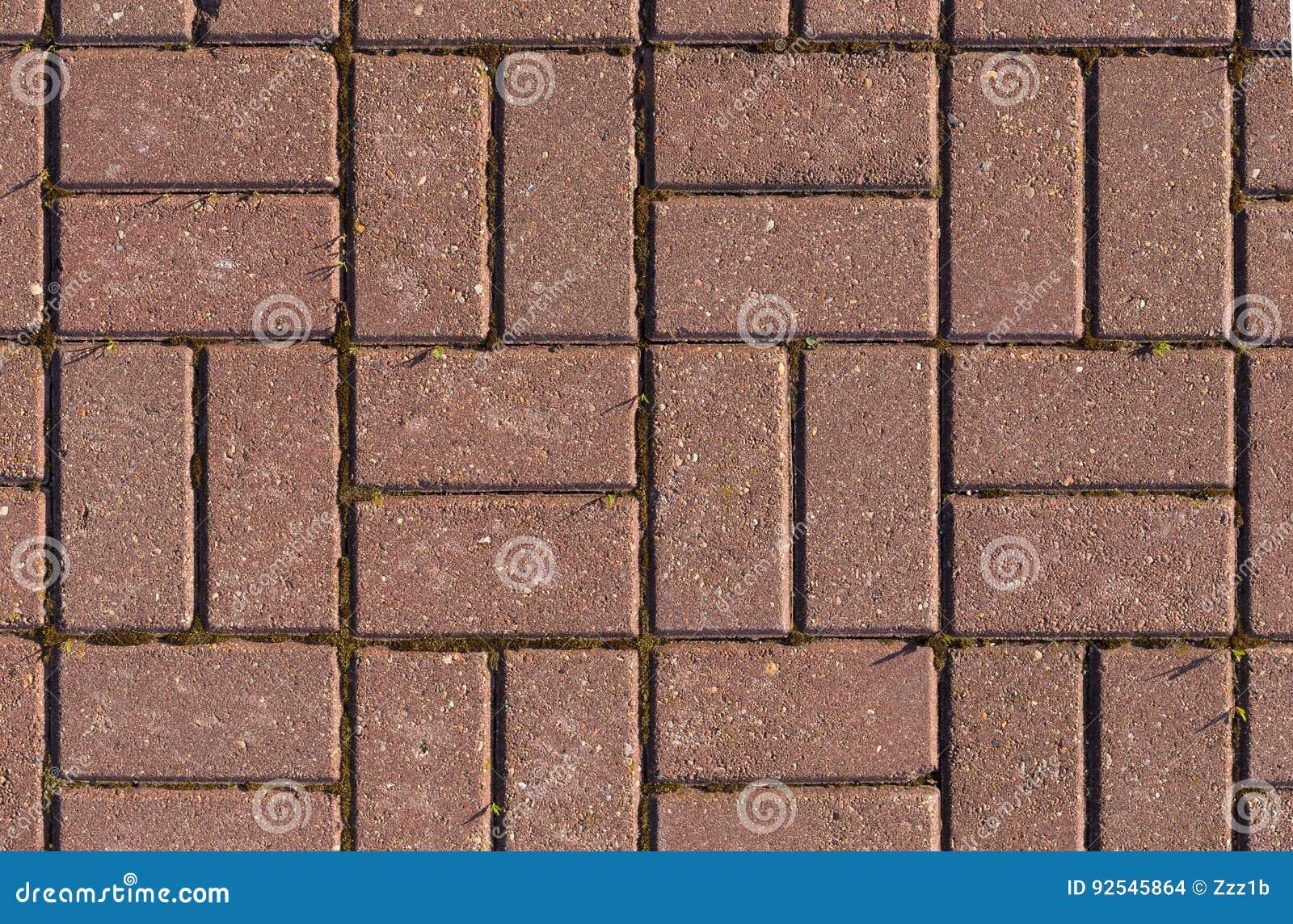 Fußboden Aus Backsteinen ~ Bodenbeschaffenheit der roten backsteine mit moos stockfoto bild