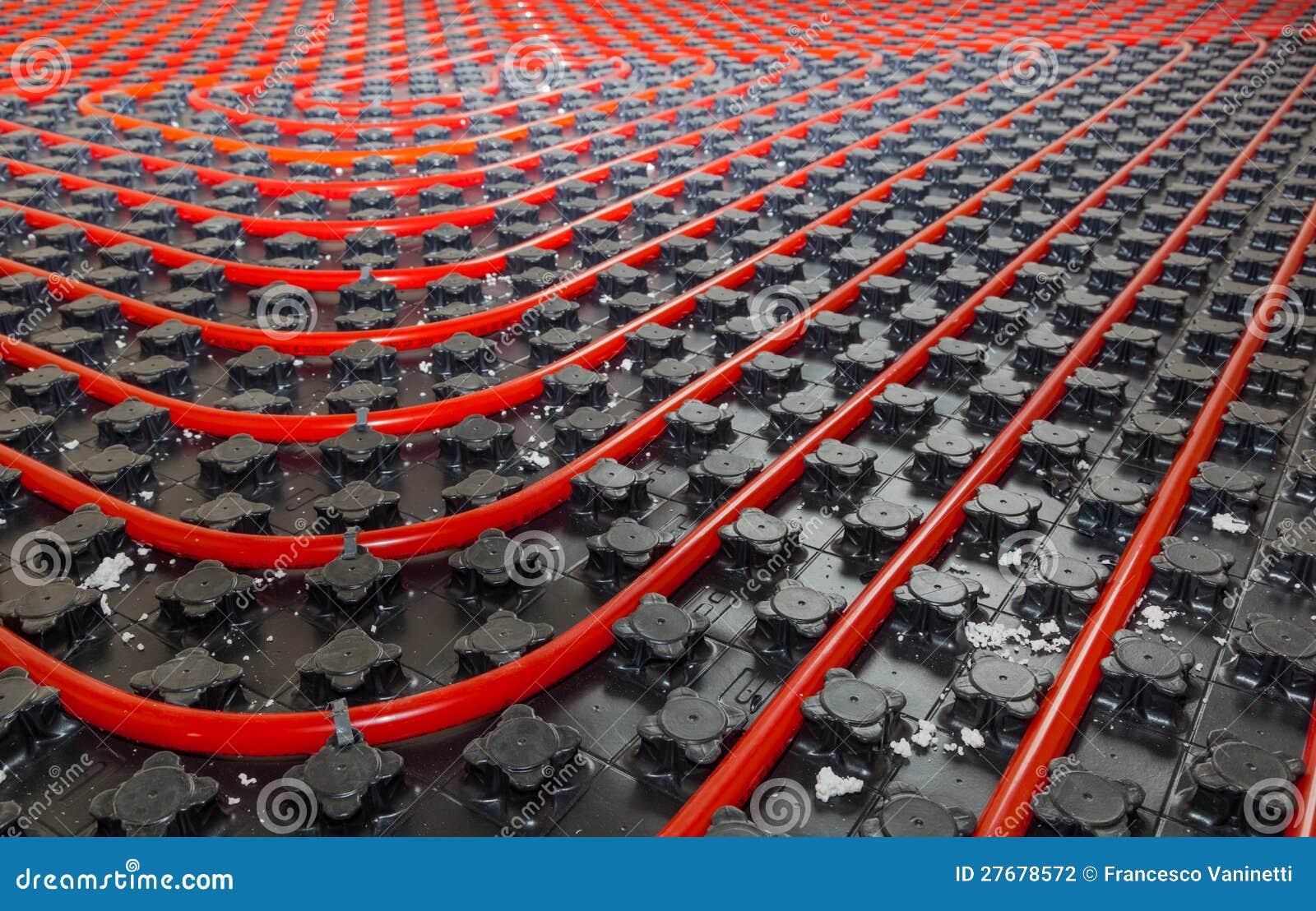 Bodenheizung stockfoto bild von klempner industriell for Boden heizung